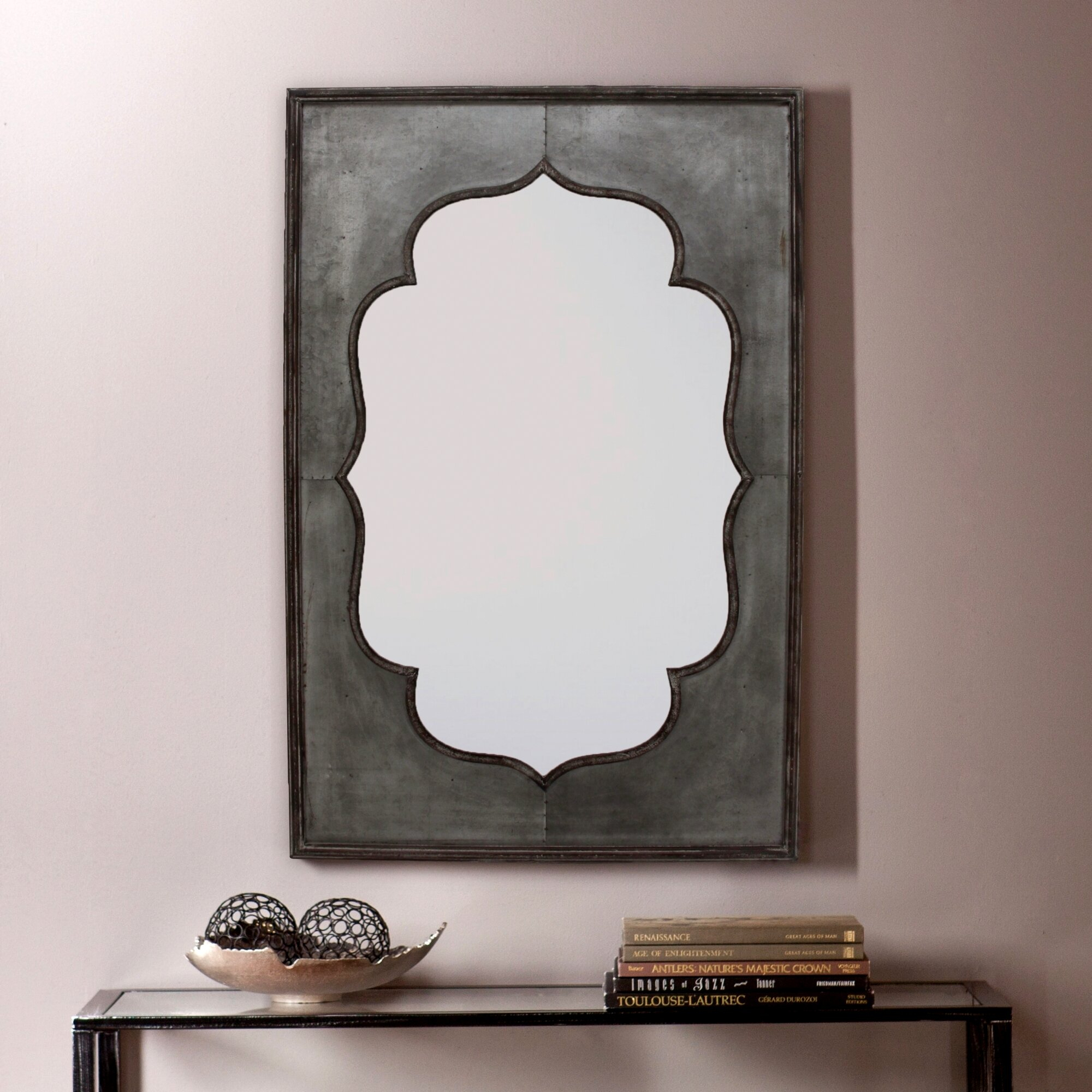 Killingsworth Wall Mirror Pertaining To Ekaterina Arch/crowned Top Wall Mirrors (Photo 22 of 30)