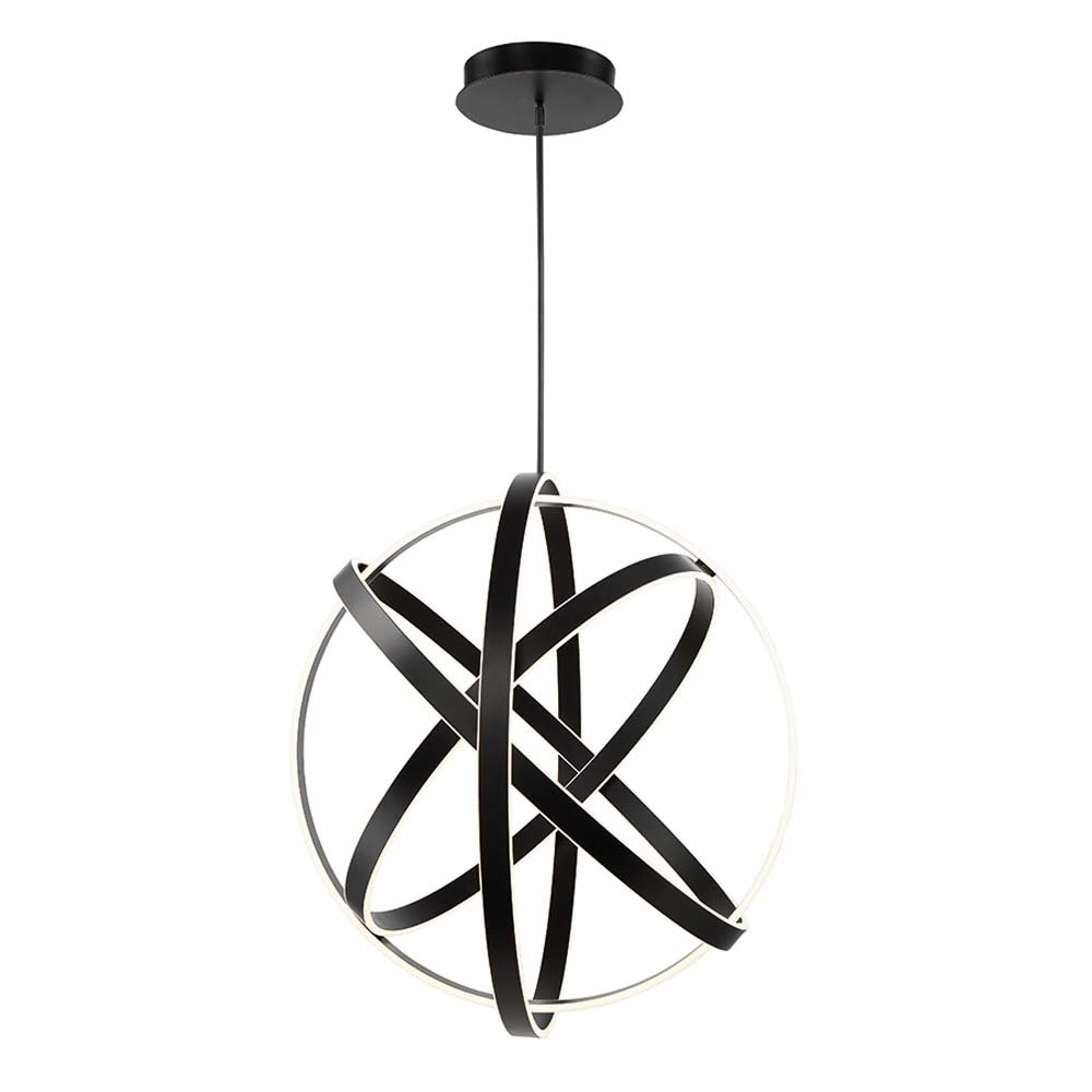 Kinetic 1 Light Led Globe Chandelier Pertaining To Perseus 6 Light Candle Style Chandeliers (Photo 22 of 30)
