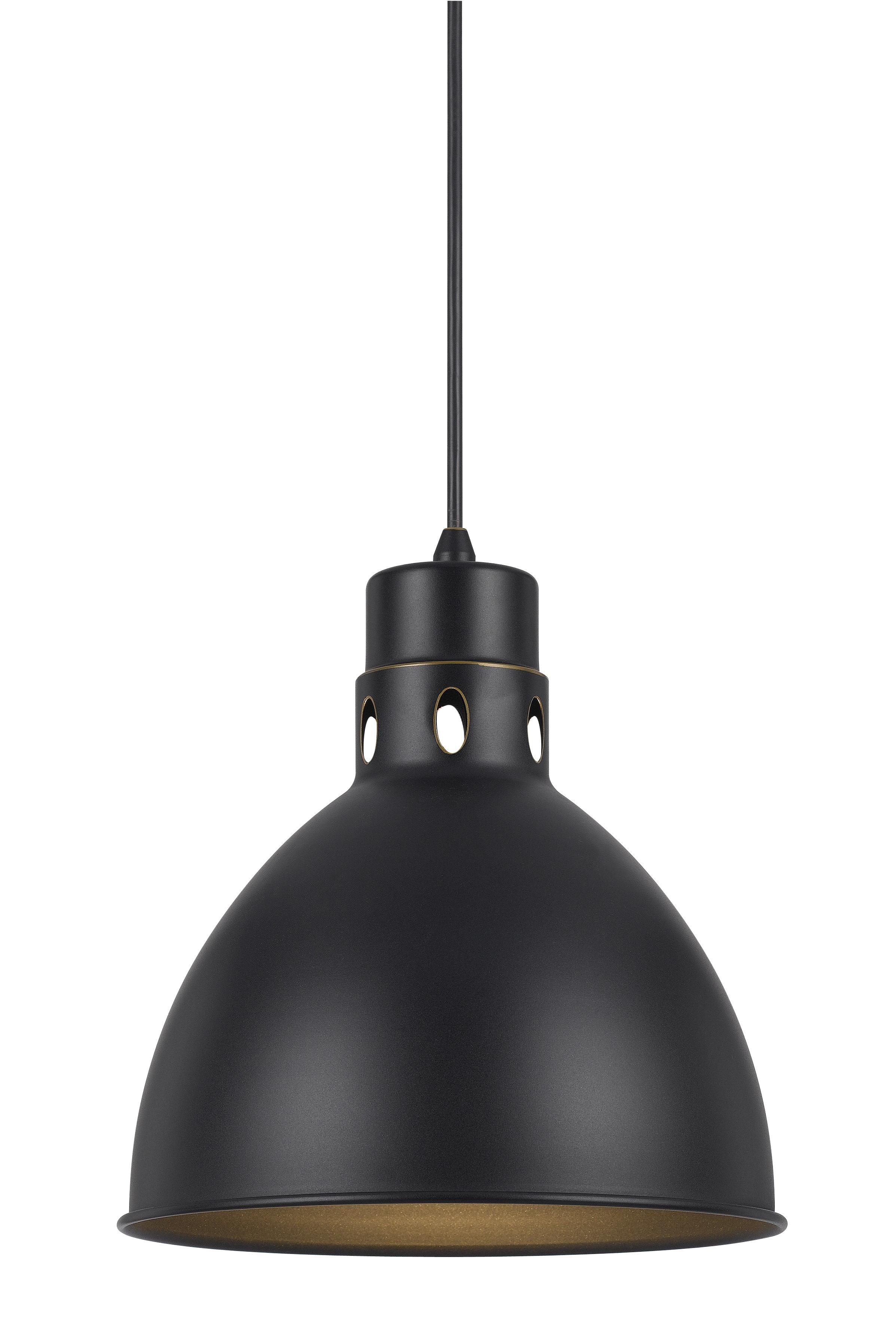 Kirkwood 1 Light Bell Pendant Inside Ninette 1 Light Dome Pendants (Photo 5 of 30)