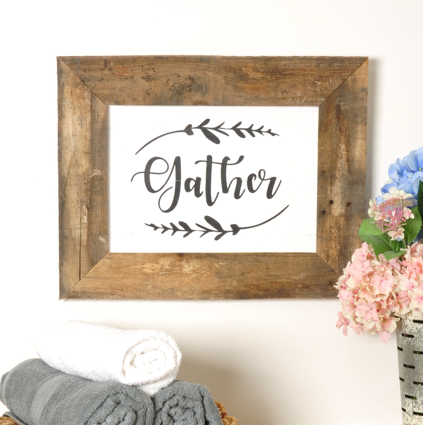 Kitchen Gather Signs | Wayfair Throughout Sign Wall Decor By Charlton Home (Photo 8 of 30)