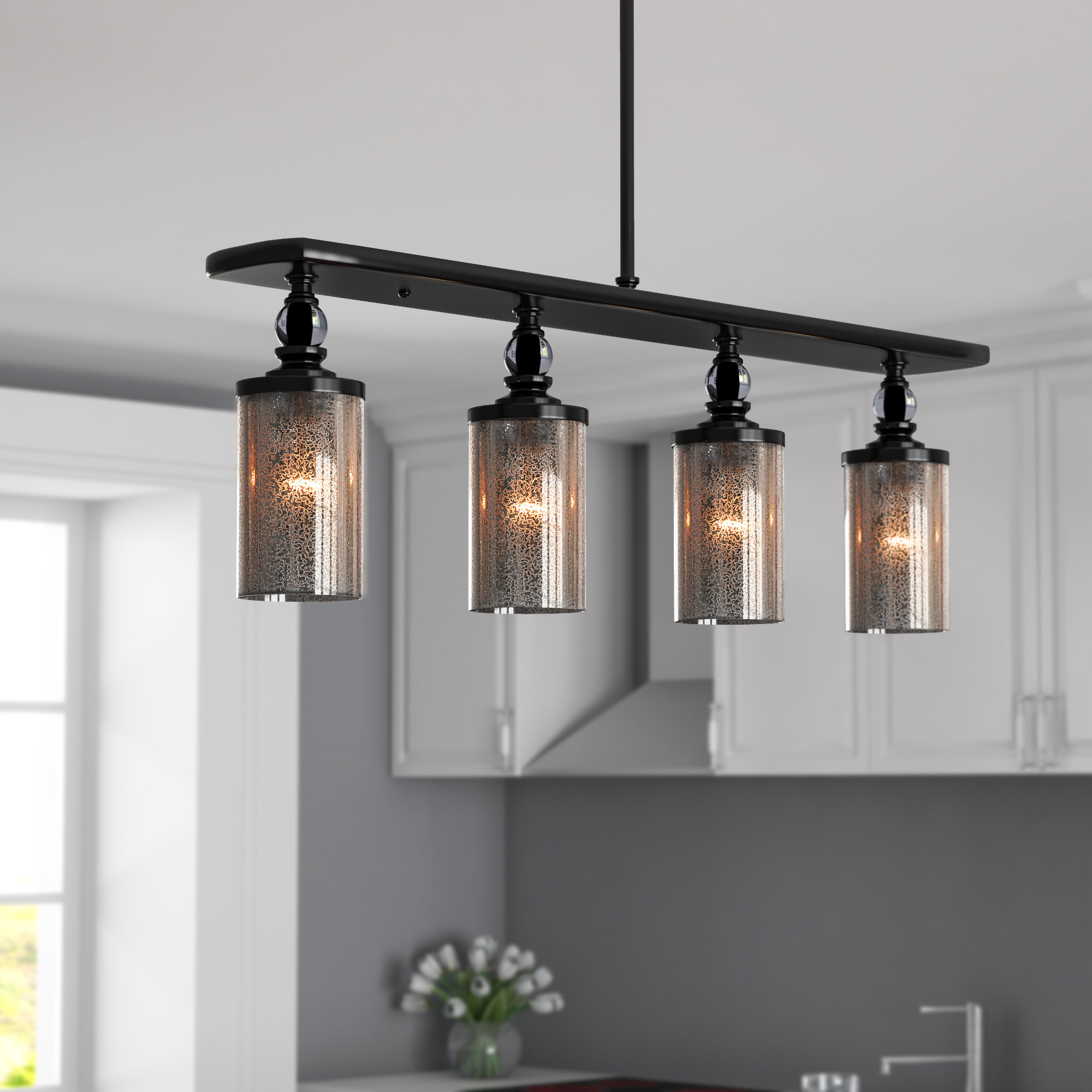 Kitchen Island Traditional Pendant Lighting You'll Love In With Smithville 4 Light Kitchen Island Pendants (View 19 of 30)