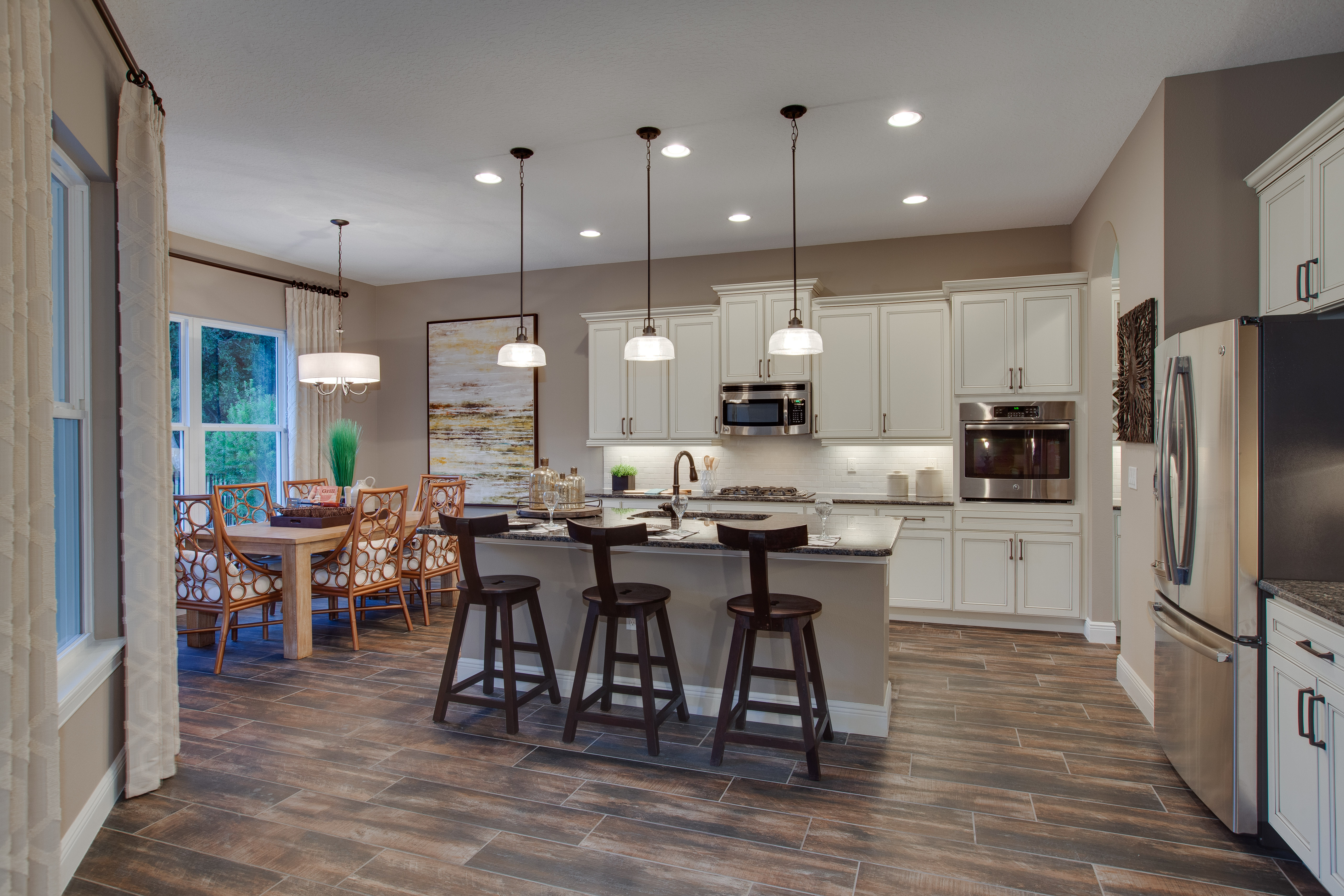 Kitchen : Laurel Foundry Modern Farmhouse Carmen 6light With Carmen 6 Light Kitchen Island Linear Pendants (View 20 of 30)