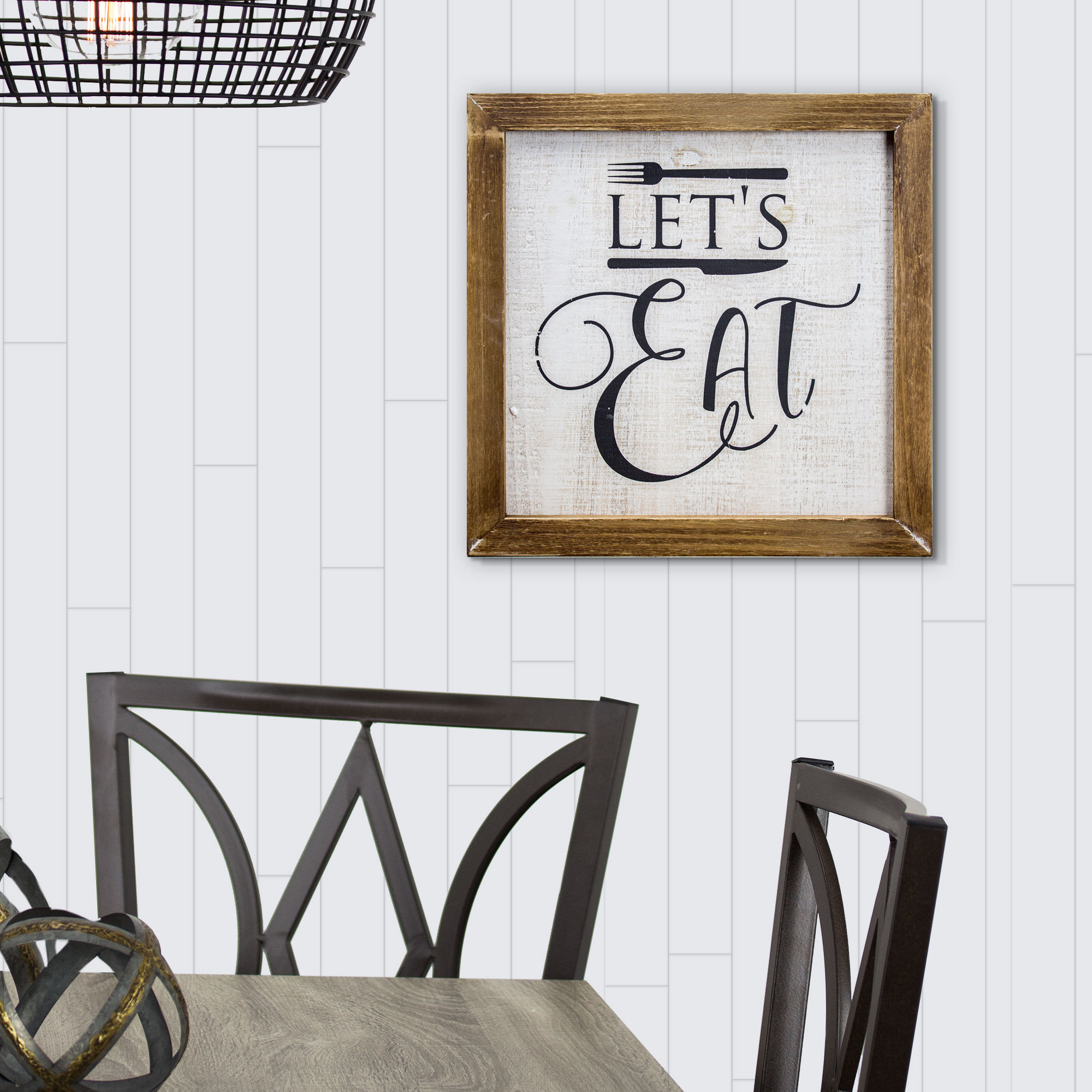 Kitchen Wall Decor Eat | Wayfair Within Casual Country Eat Here Retro Wall Decor (View 23 of 30)