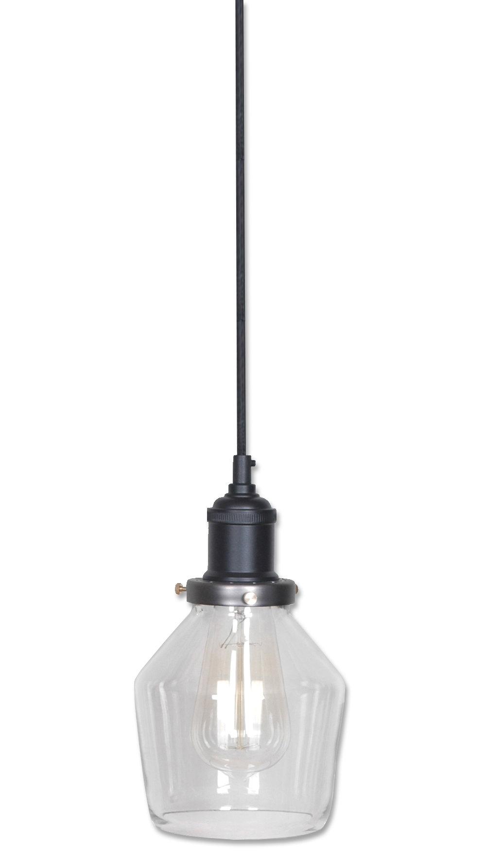 Kitts 1 Light Single Bell Pendant Inside Roslindale 1 Light Single Bell Pendants (Photo 21 of 30)
