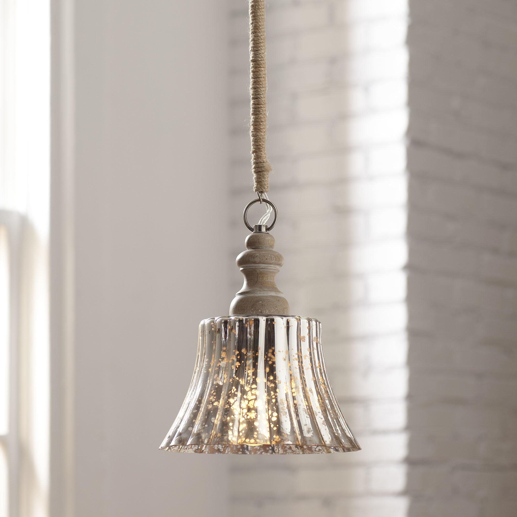 Klas 1-Light Bell Pendant throughout Akakios 1-Light Single Bell Pendants (Image 15 of 30)