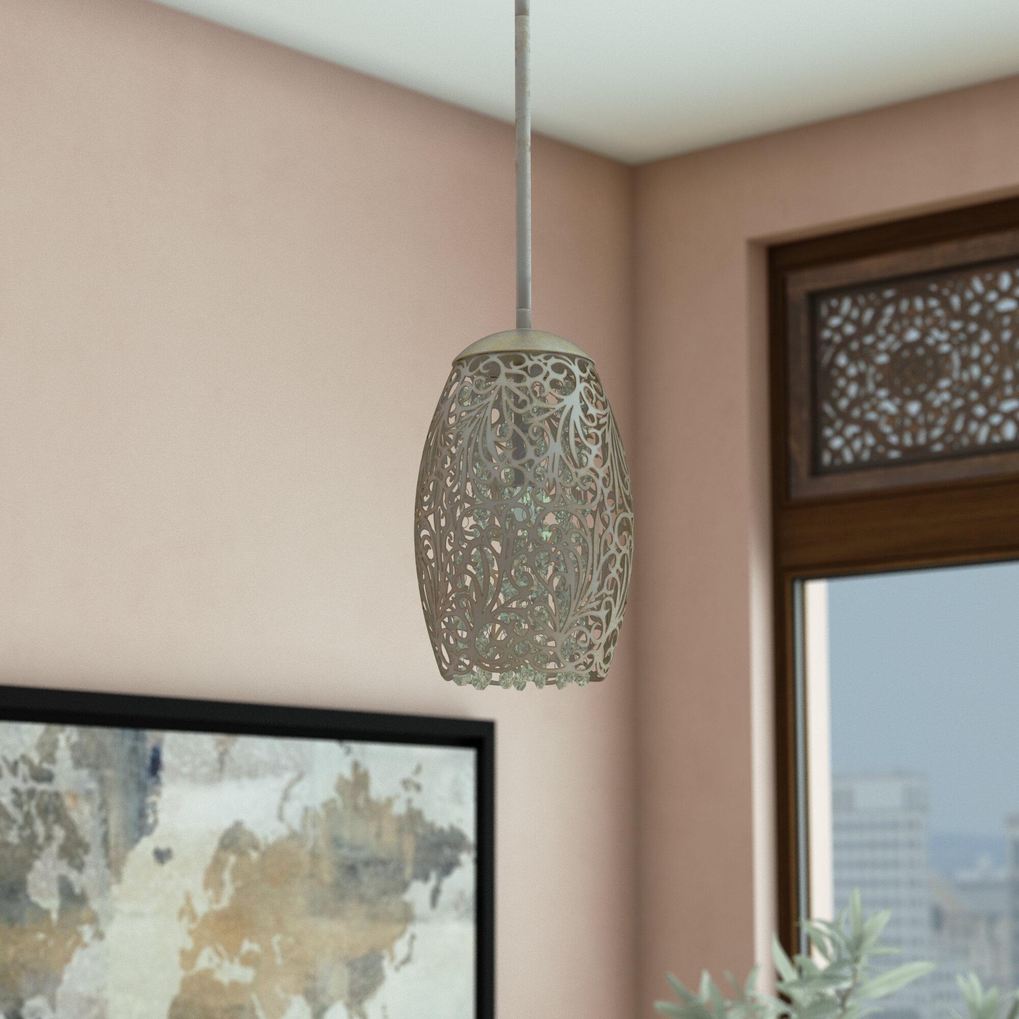 Kraker 1 Light Single Cylinder Pendant Intended For Giacinta 1 Light Single Bell Pendants (Photo 10 of 30)