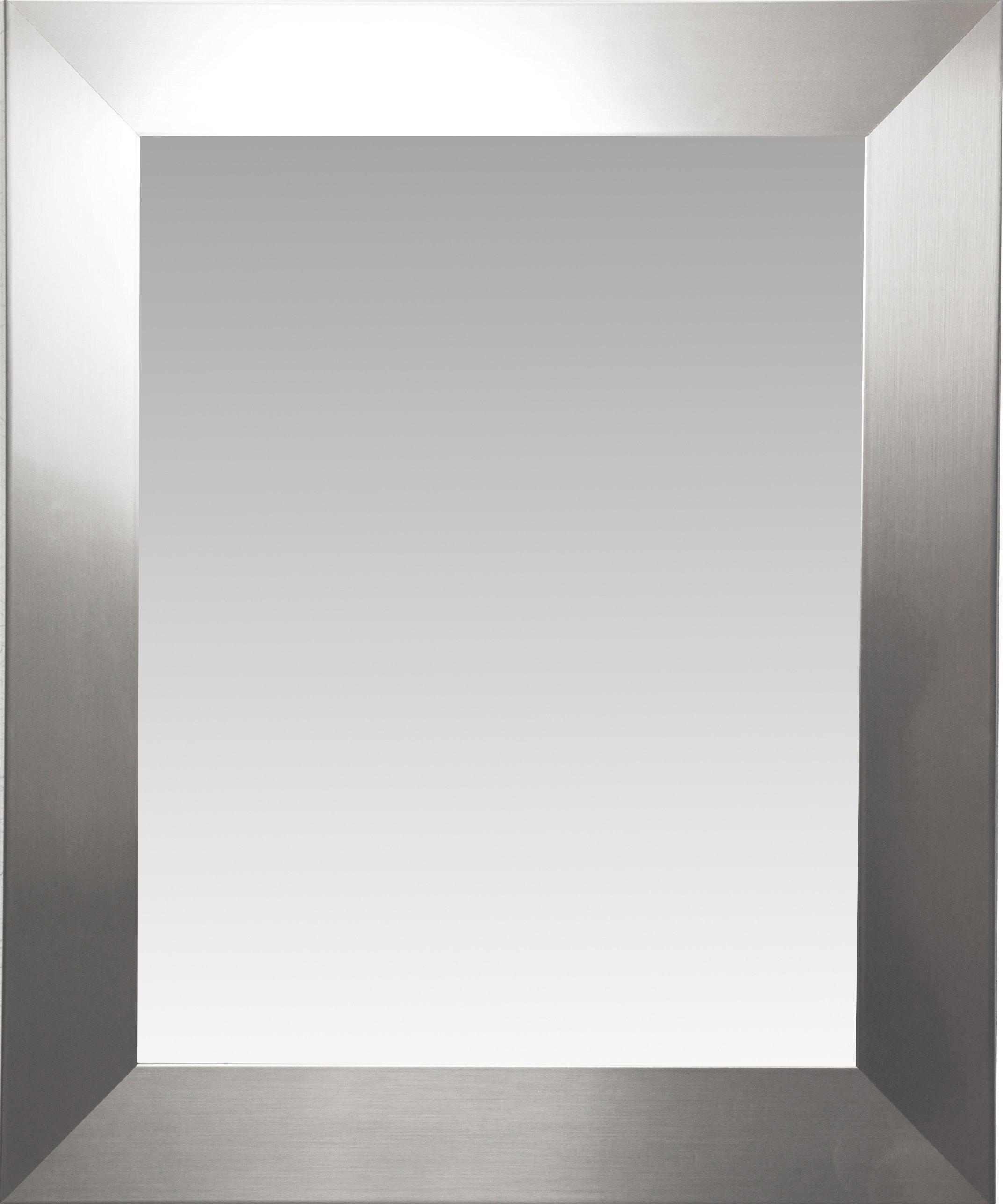 Kurt Modern & Contemporary Wall Mirror With Guidinha Modern & Contemporary Accent Mirrors (Photo 29 of 30)