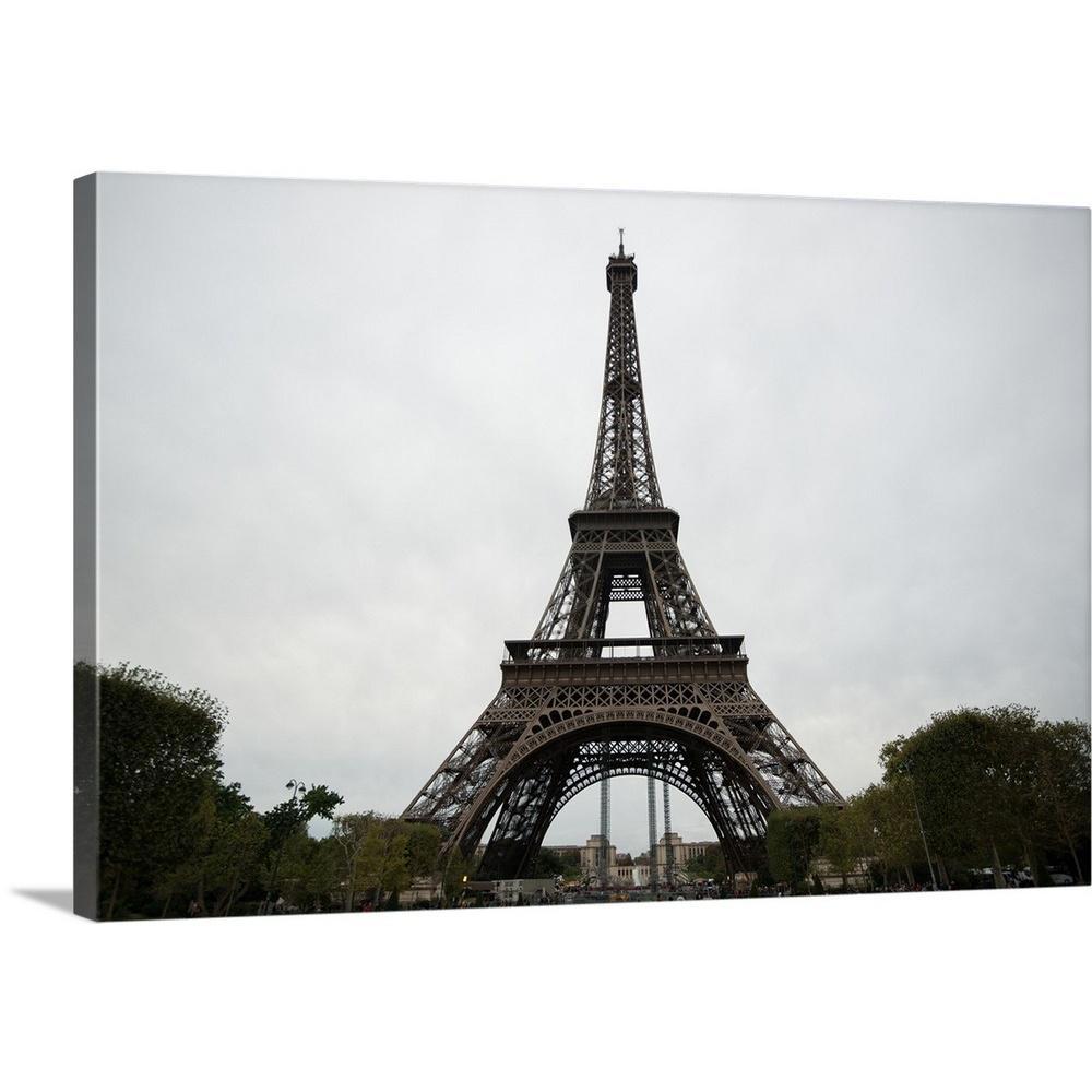 """la Tour Eiffel I""erin Berzel Canvas Wall Art Pertaining To Latour Wall Decor (View 13 of 30)"