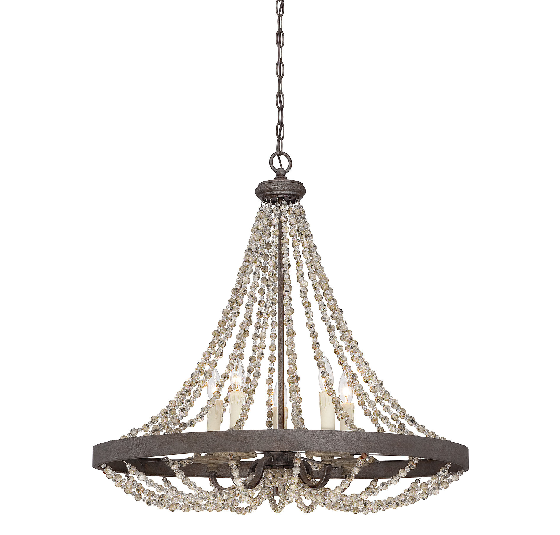 Ladonna 5 Light Novelty Chandelier With Regard To Duron 5 Light Empire Chandeliers (View 8 of 30)