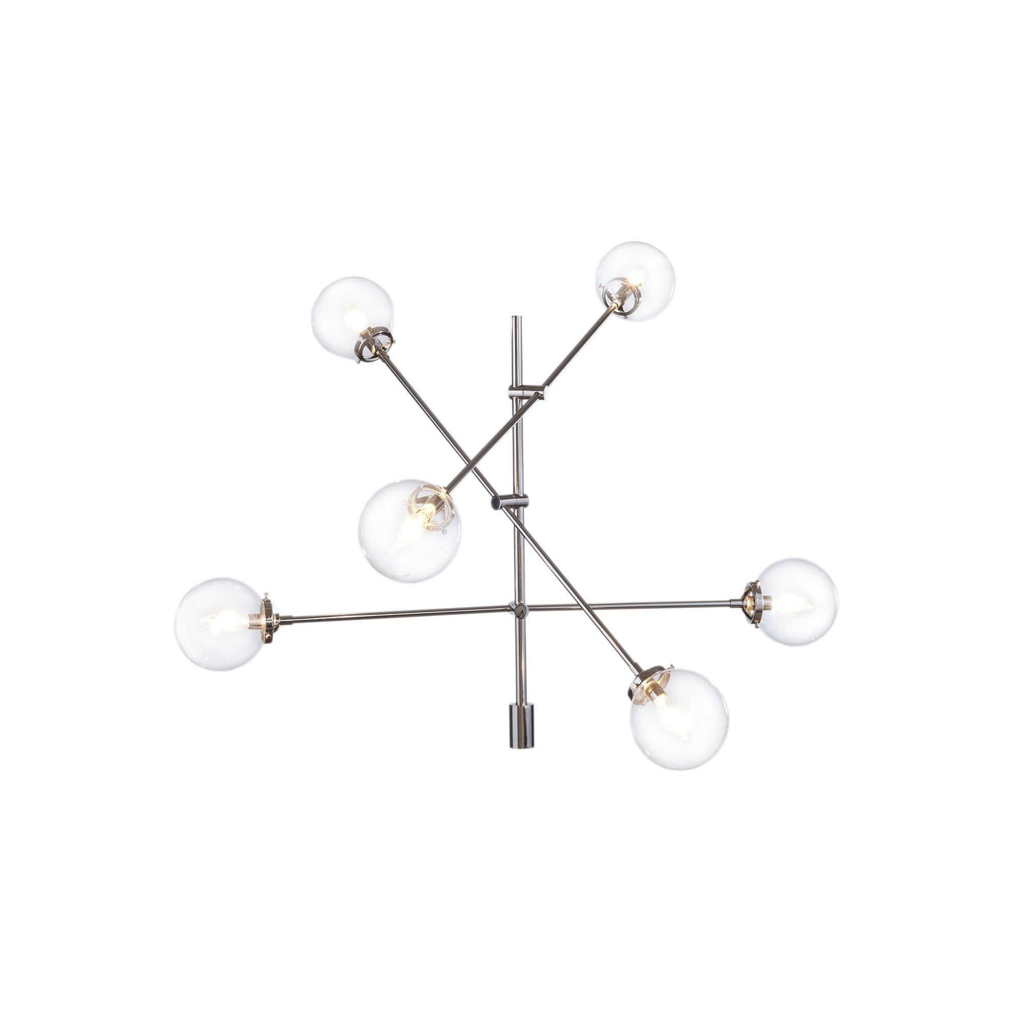 Langley Street Bensley Antique 6 Light Sputnik Chandelier For Eladia 6 Light Sputnik Chandeliers (View 13 of 30)