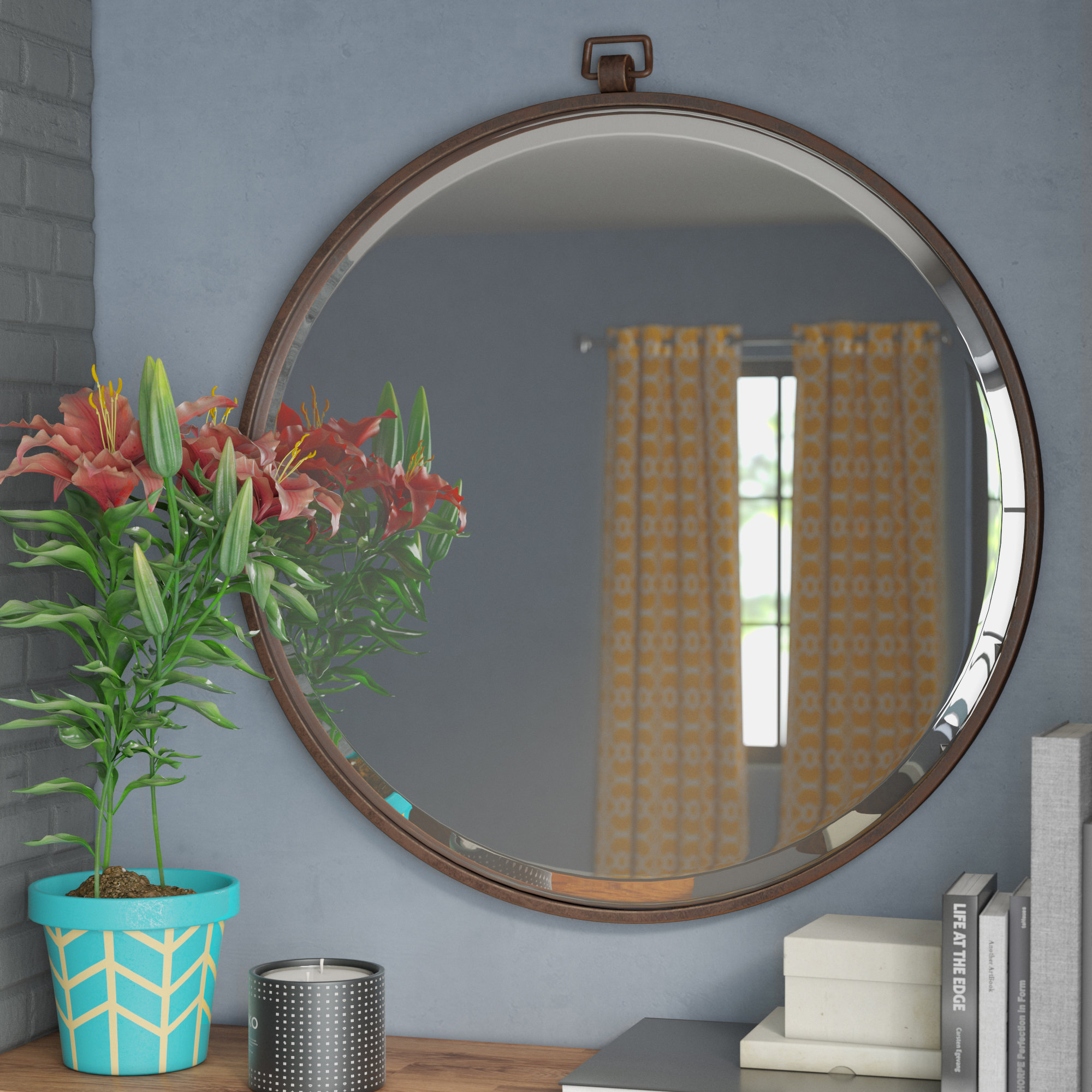 Langley Street Minerva Accent Mirror intended for Minerva Accent Mirrors (Image 12 of 30)