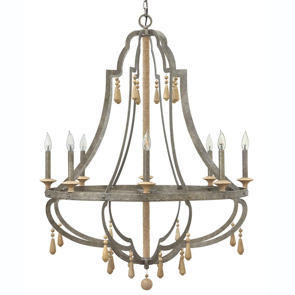Large Bohemian Inspired Chandelier | Chandelier | Cordoba Throughout Kenna 5 Light Empire Chandeliers (View 17 of 30)