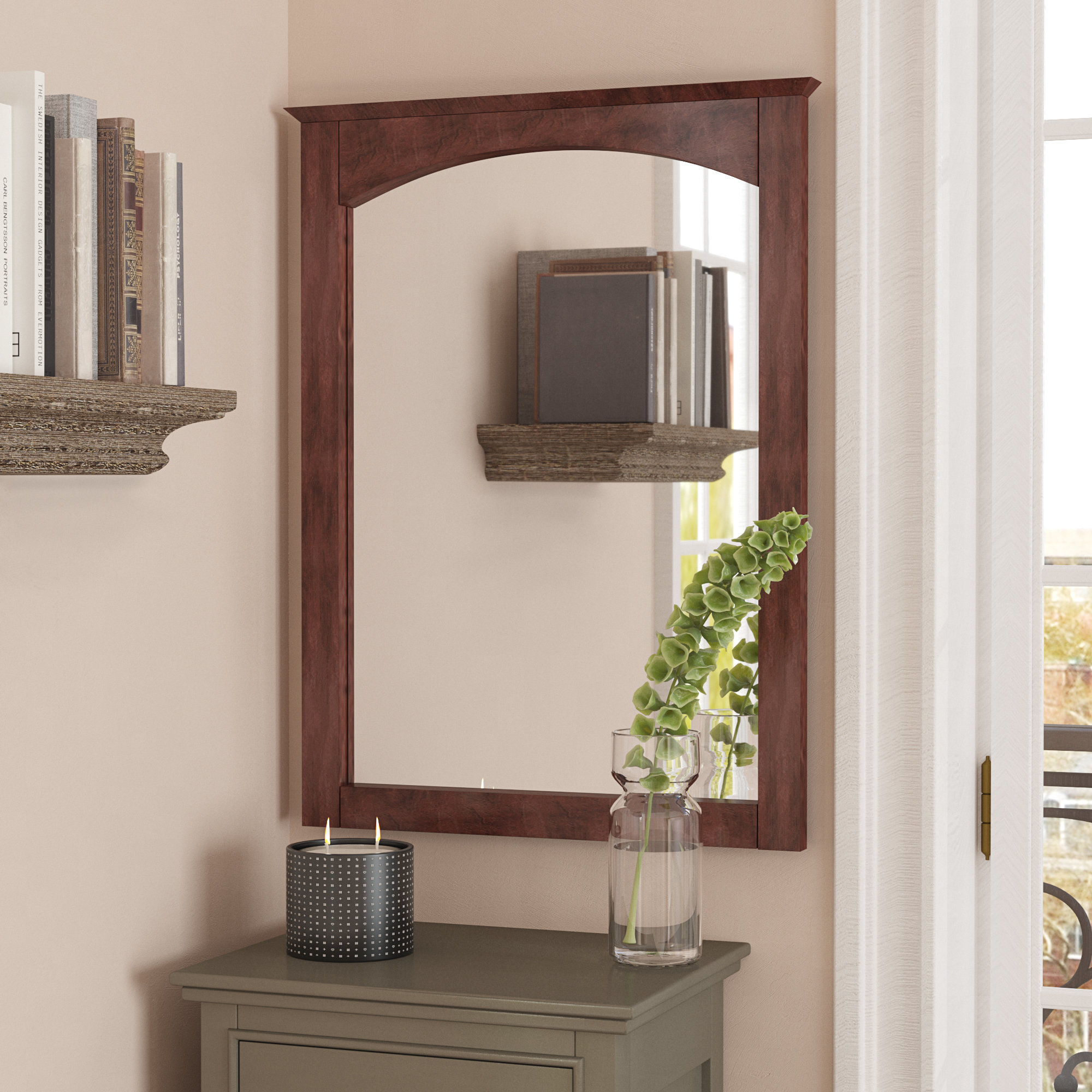 Large Dining Room Mirror | Wayfair with Marion Wall Mirrors (Image 14 of 30)