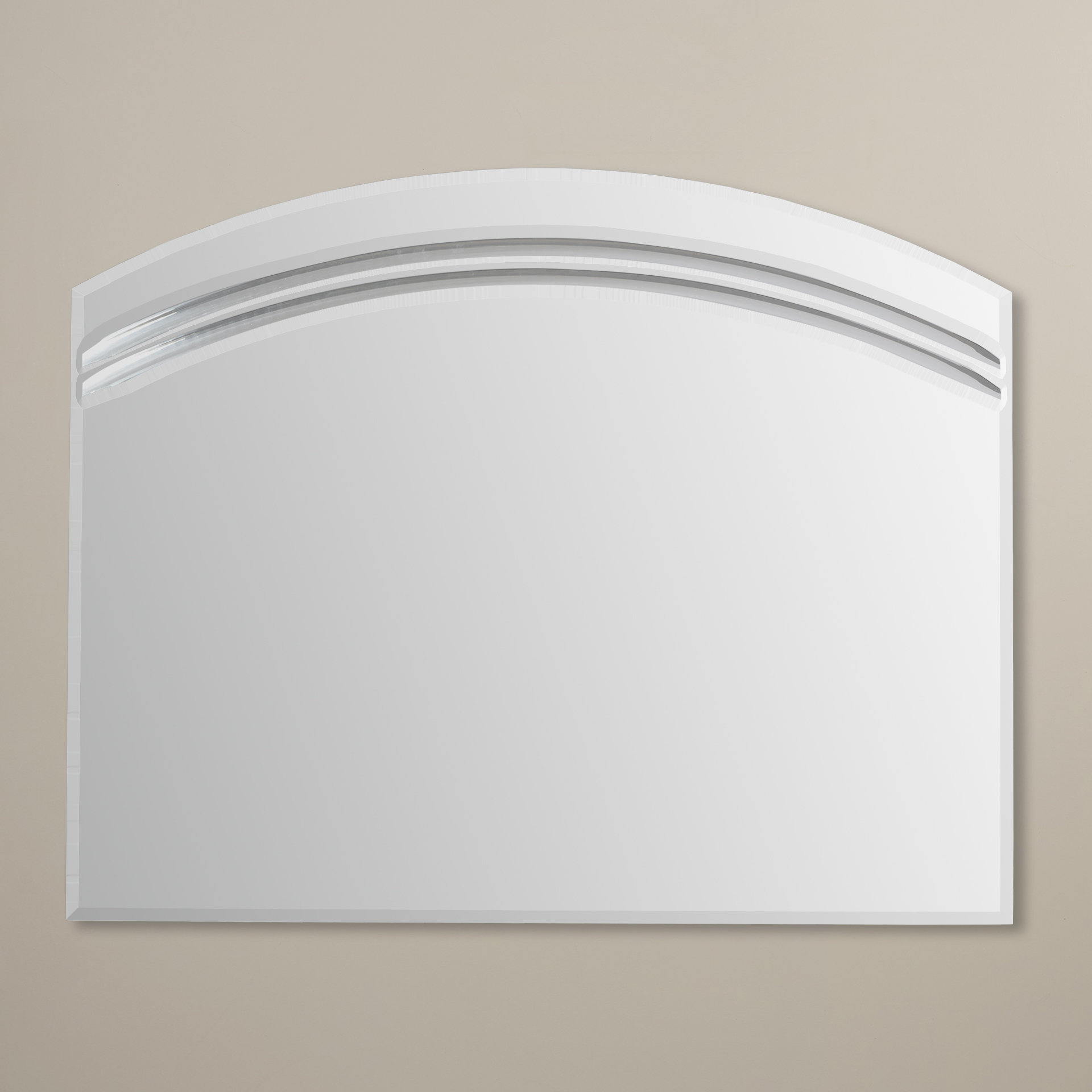 Large Dressing Mirror | Wayfair Inside Wallingford Large Frameless Wall Mirrors (View 12 of 30)