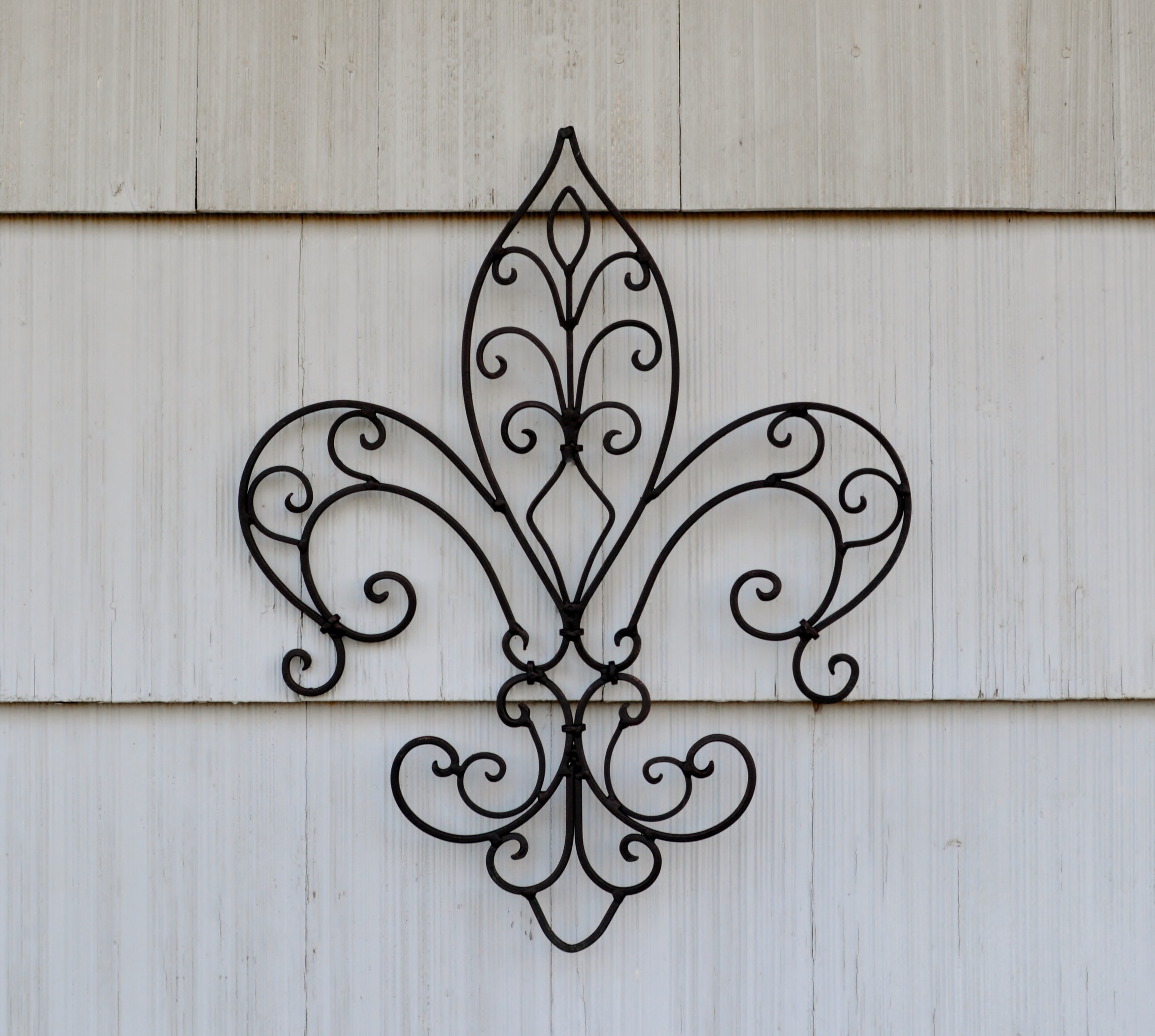 Large Fleur De Lis Wall Decor. Metal Fleur De Lis Decor. Vintage Wall Decor. Vintage. Victorian Decor. Fleur De Lis Decor. Fdl Decor (View 5 of 30)