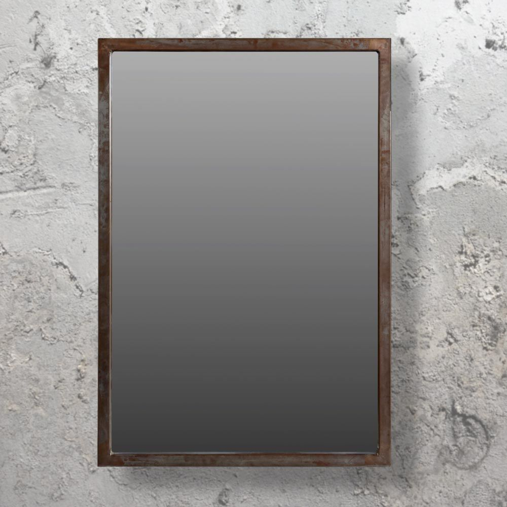 Large Industrial Wall Mirror Cl-33678 | Liberty Living Room for Koeller Industrial Metal Wall Mirrors (Image 14 of 30)