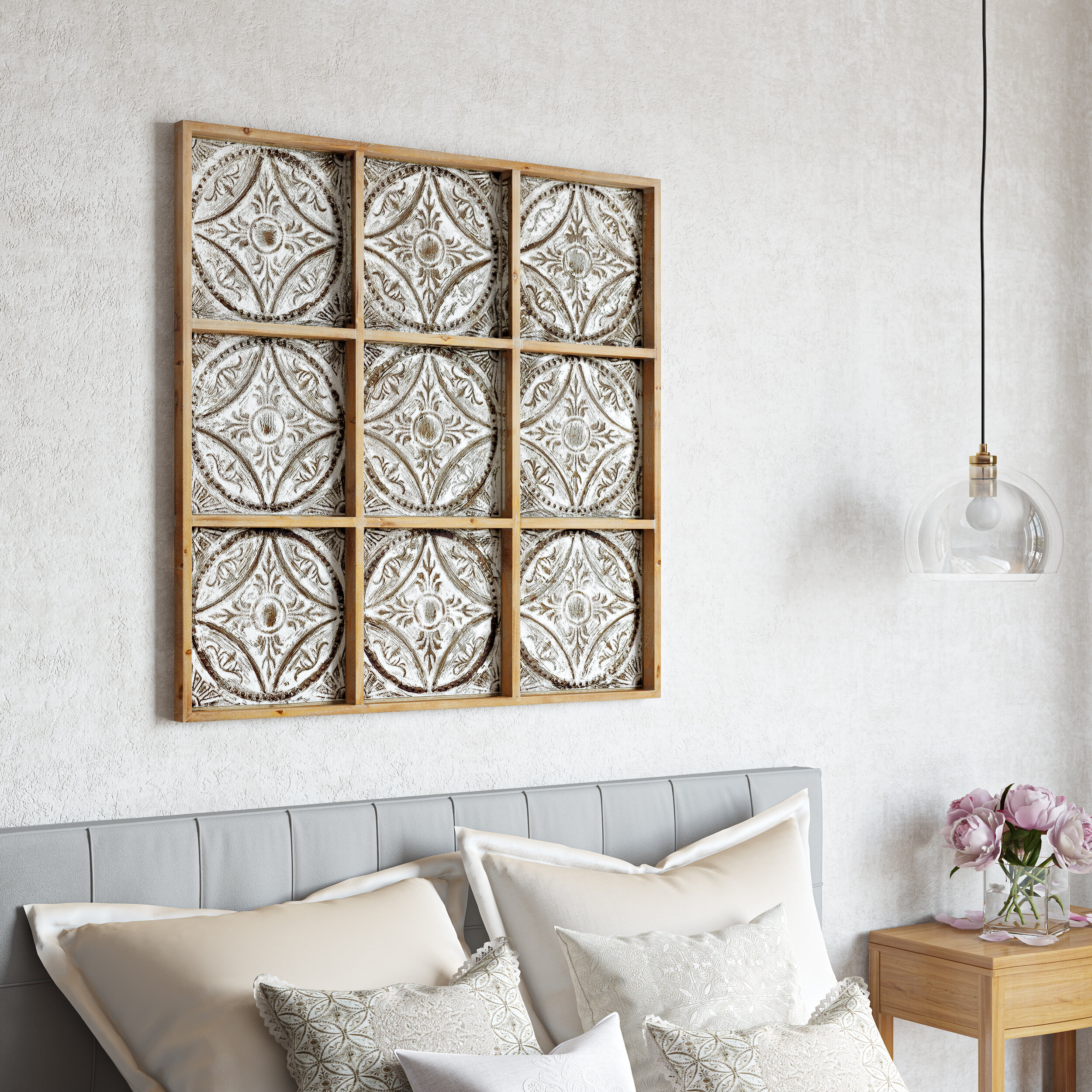 Large Wood Wall Décor Within 1 Piece Ortie Panel Wall Decor (View 20 of 30)
