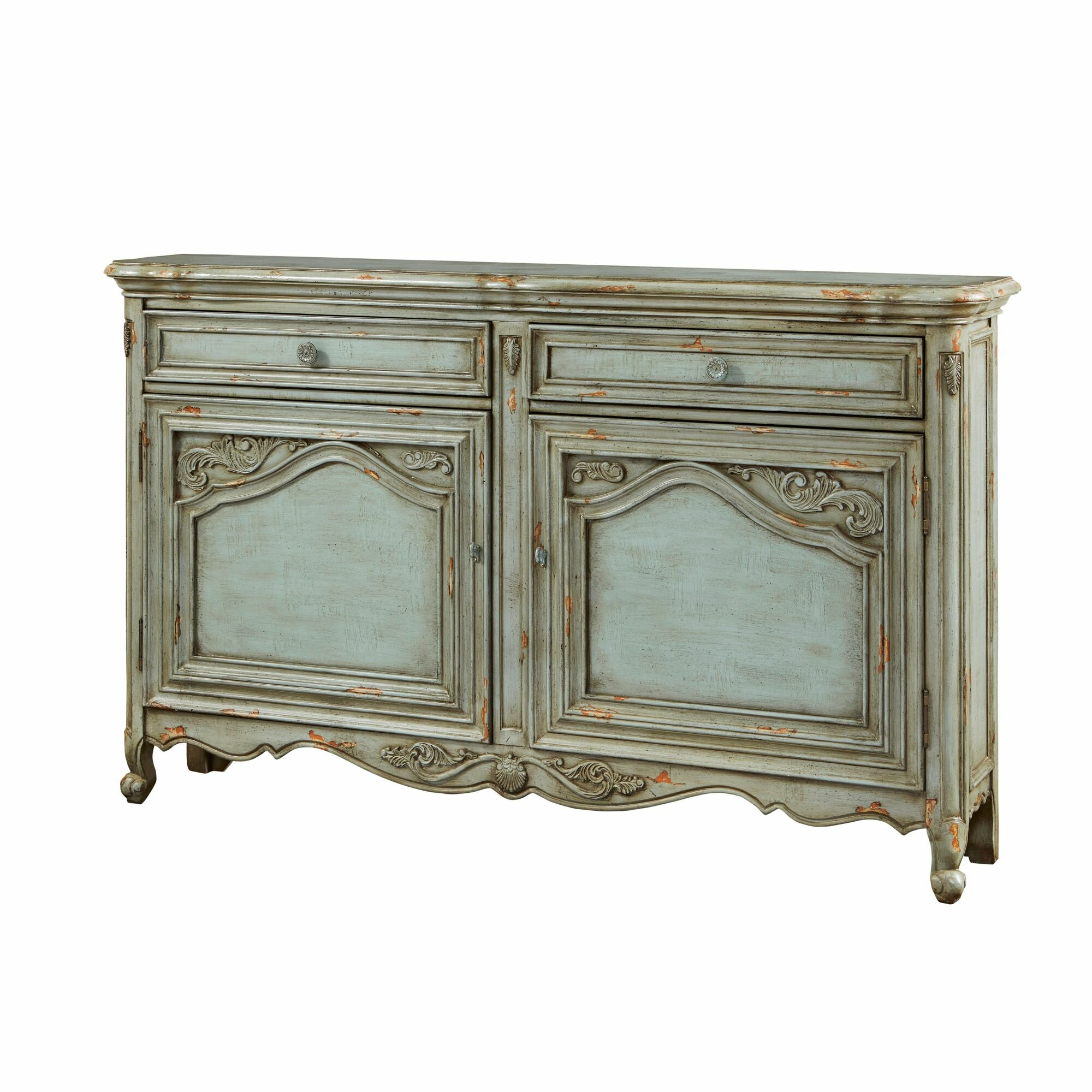 Lark Manor Deville Russelle Sideboard & Reviews | Wayfair within Mauzy Sideboards (Image 12 of 30)