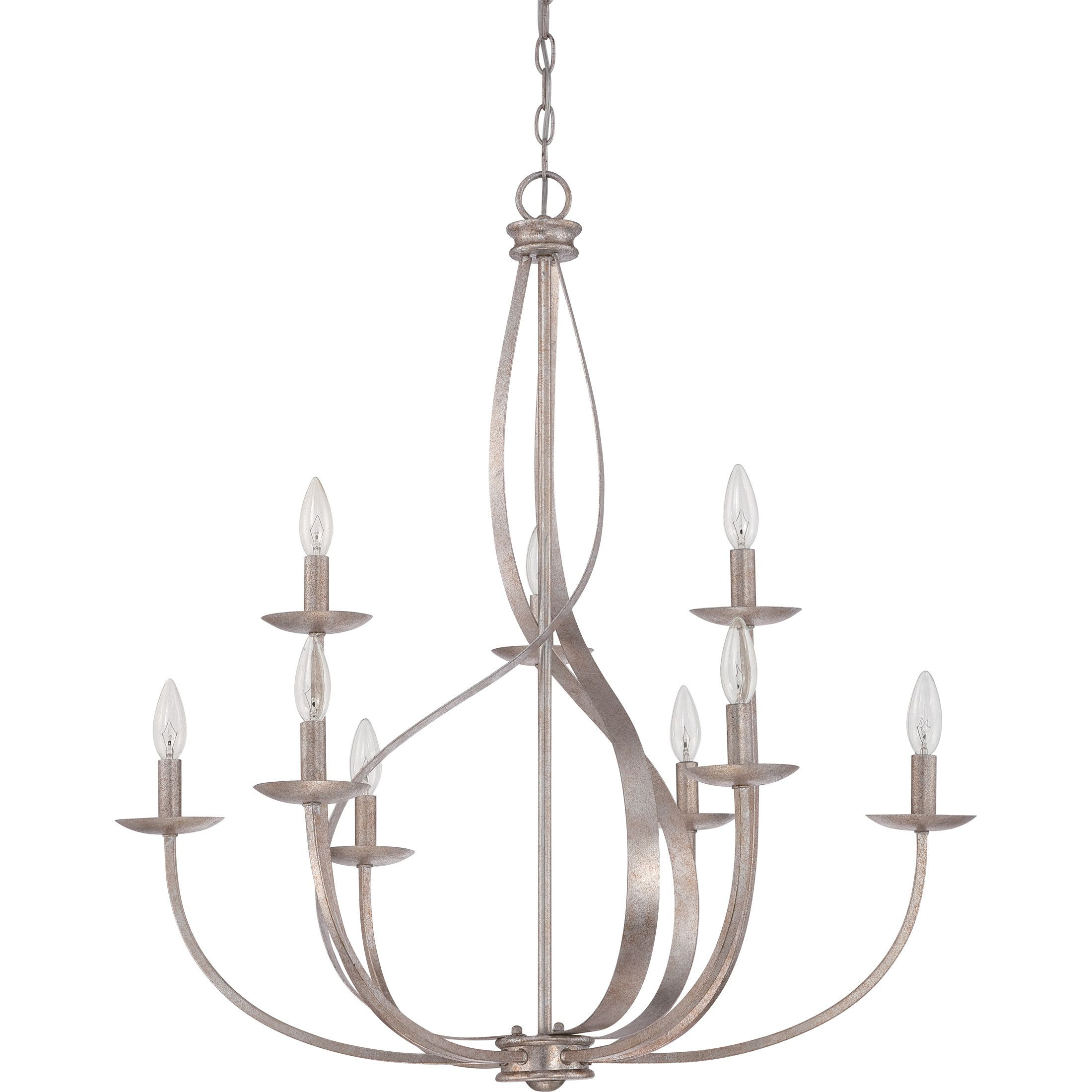 Lark Manor™ Emely 9-Light Candle-Style Chandelier | Lighting for Camilla 9-Light Candle Style Chandeliers (Image 19 of 30)