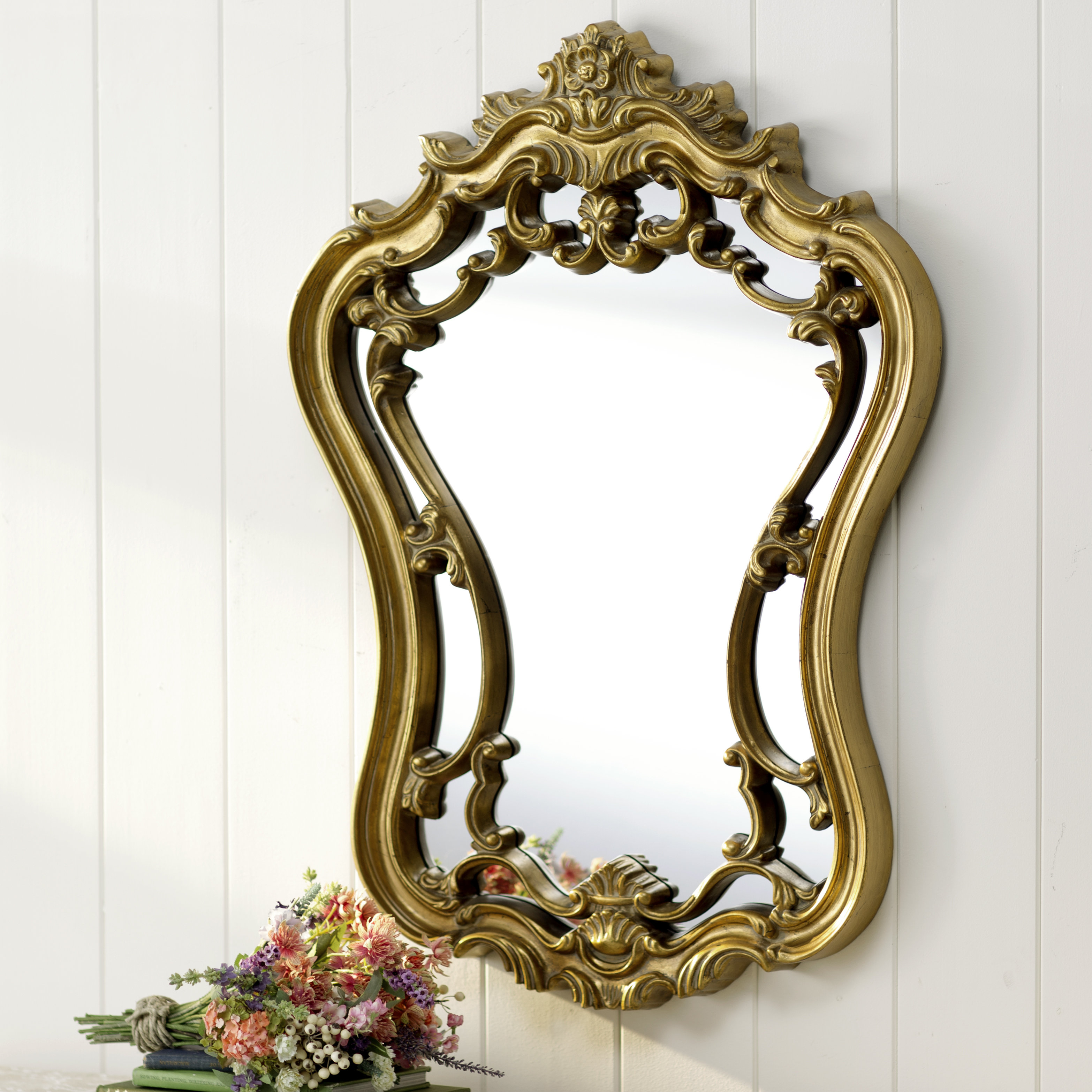 Lark Manor Mirror Polito | Wayfair Inside Polito Cottage/country Wall Mirrors (Image 12 of 30)