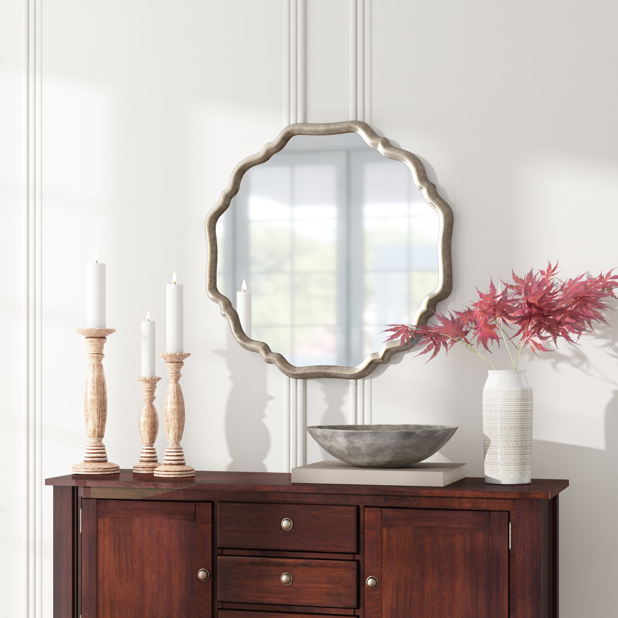 Lark Manor Mirrors You'll Love In 2019 | Wayfair Intended For Polen Traditional Wall Mirrors (View 14 of 30)