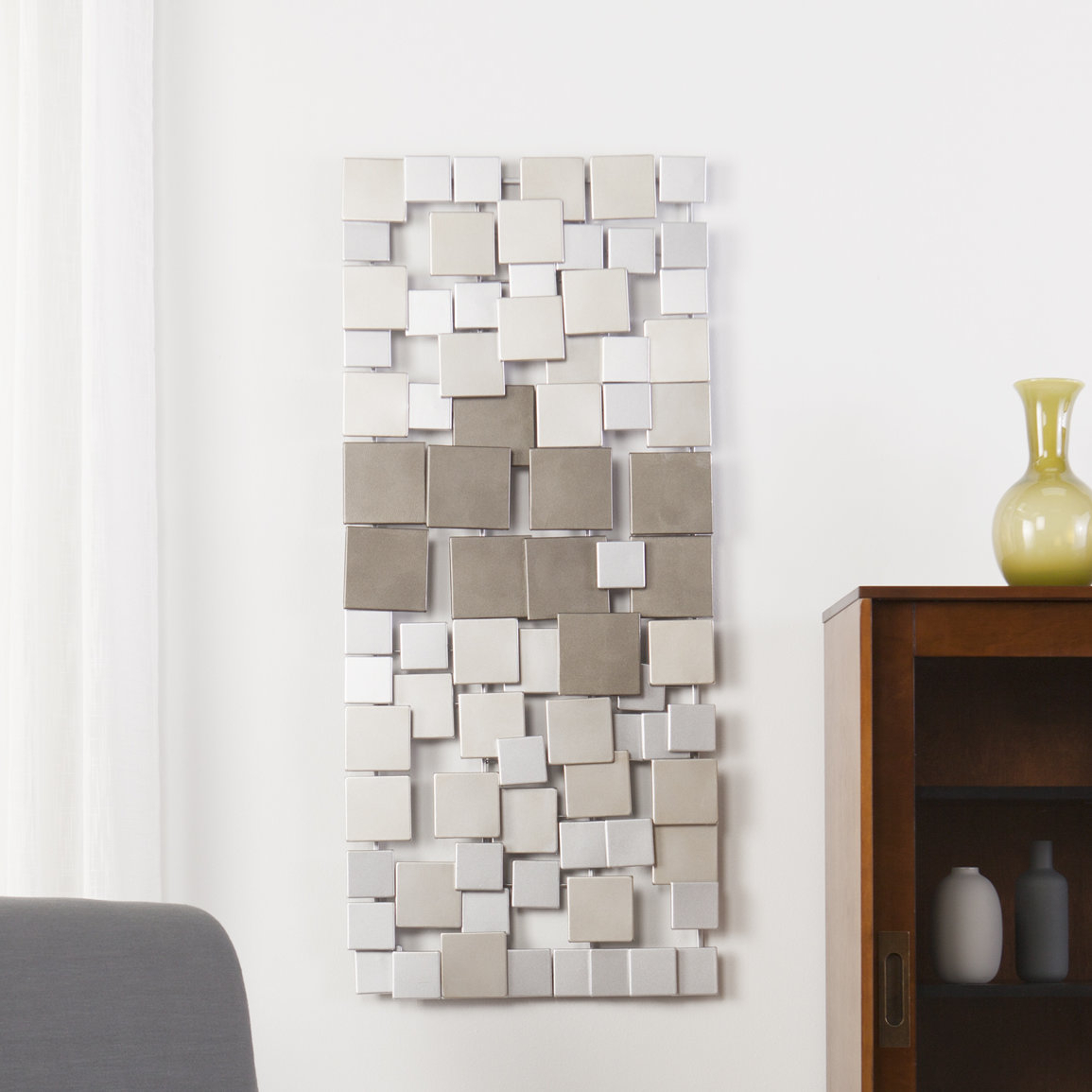 Featured Photo of Contemporary Geometric Wall Decor