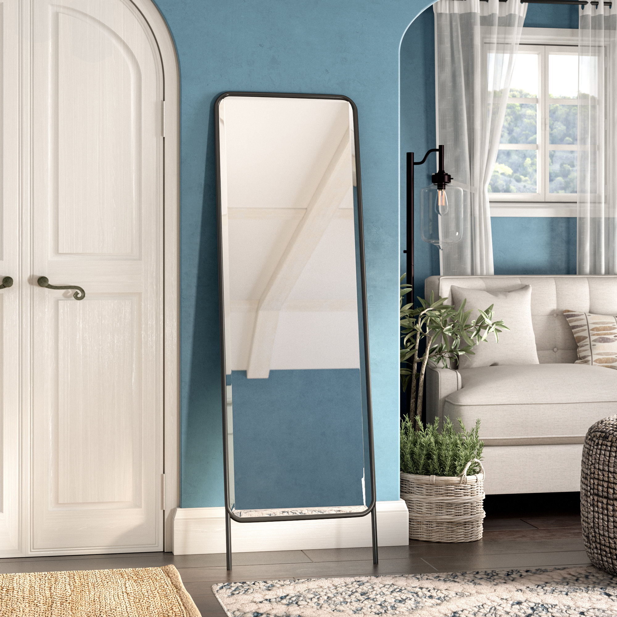 Latorre Leaning Full Length Mirror Pertaining To Leaning Mirrors (View 12 of 30)