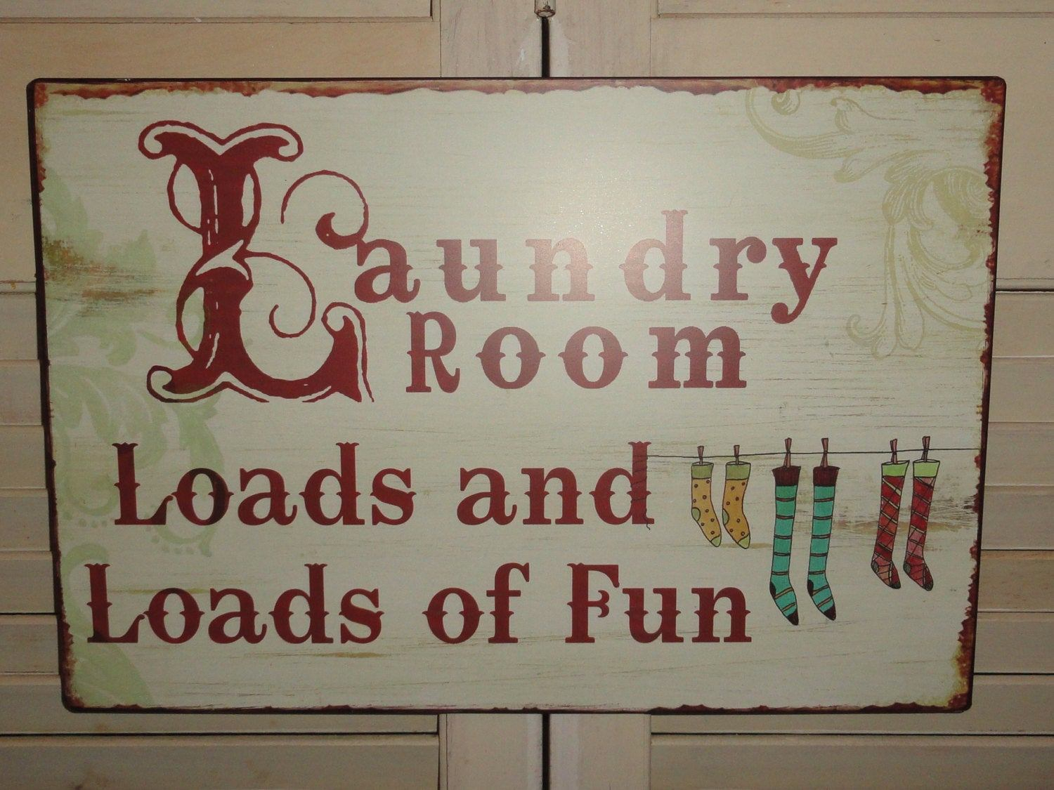 Laundry Room Signs Wall Decor - Ronniebrownlifesystems for Metal Laundry Room Wall Decor (Image 17 of 30)