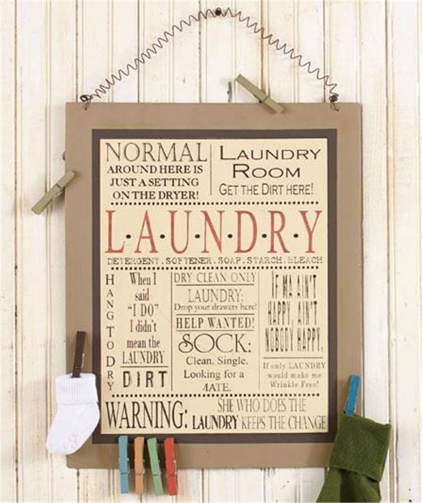 Laundry Room Signs Wall Decor – Ronniebrownlifesystems Regarding Metal Laundry Room Wall Decor (View 17 of 30)