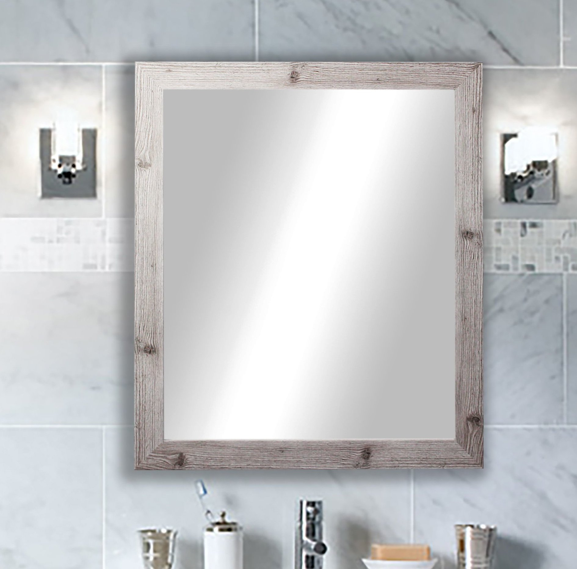 Laurel Foundry Modern Farmhouse Accent Mirror With Regard To Epinal Shabby Elegance Wall Mirrors (View 19 of 30)