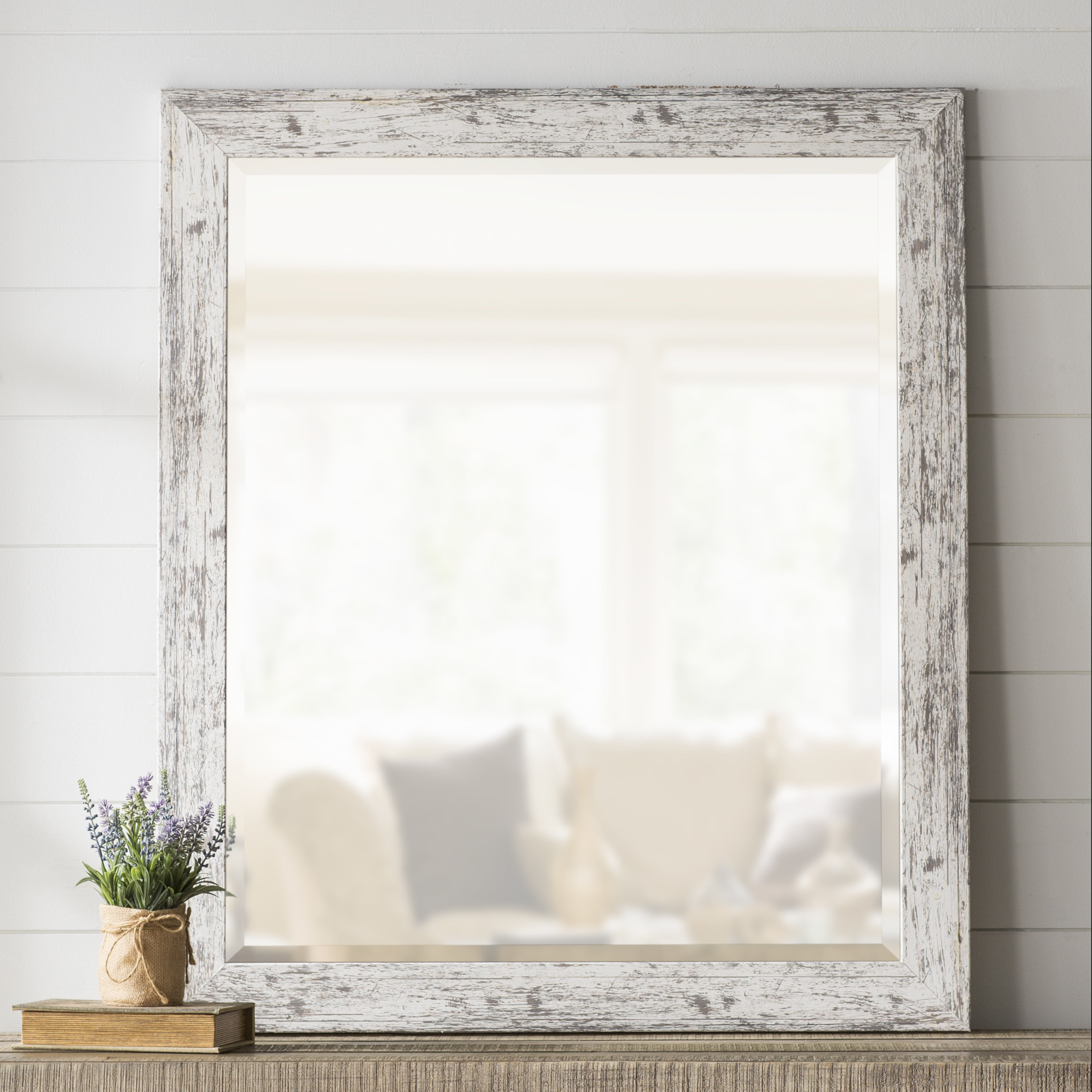 Laurel Foundry Modern Farmhouse Lagrange Weathered Farmhouse Pertaining To Handcrafted Farmhouse Full Length Mirrors (View 19 of 30)