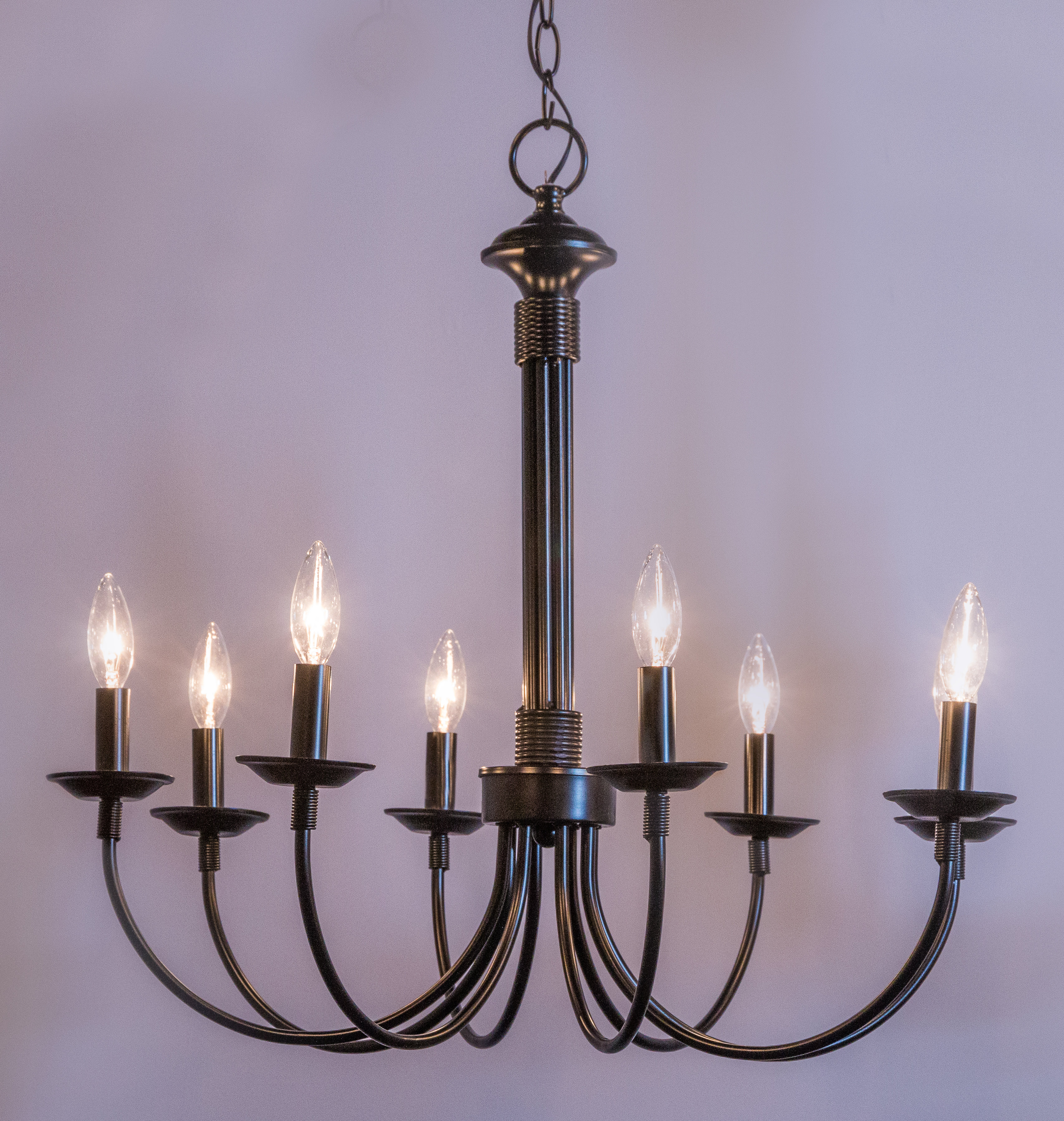 Laurel Foundry Modern Farmhouse Shaylee 8 Light Candle Style Chandelier For Shaylee 8 Light Candle Style Chandeliers (View 6 of 30)