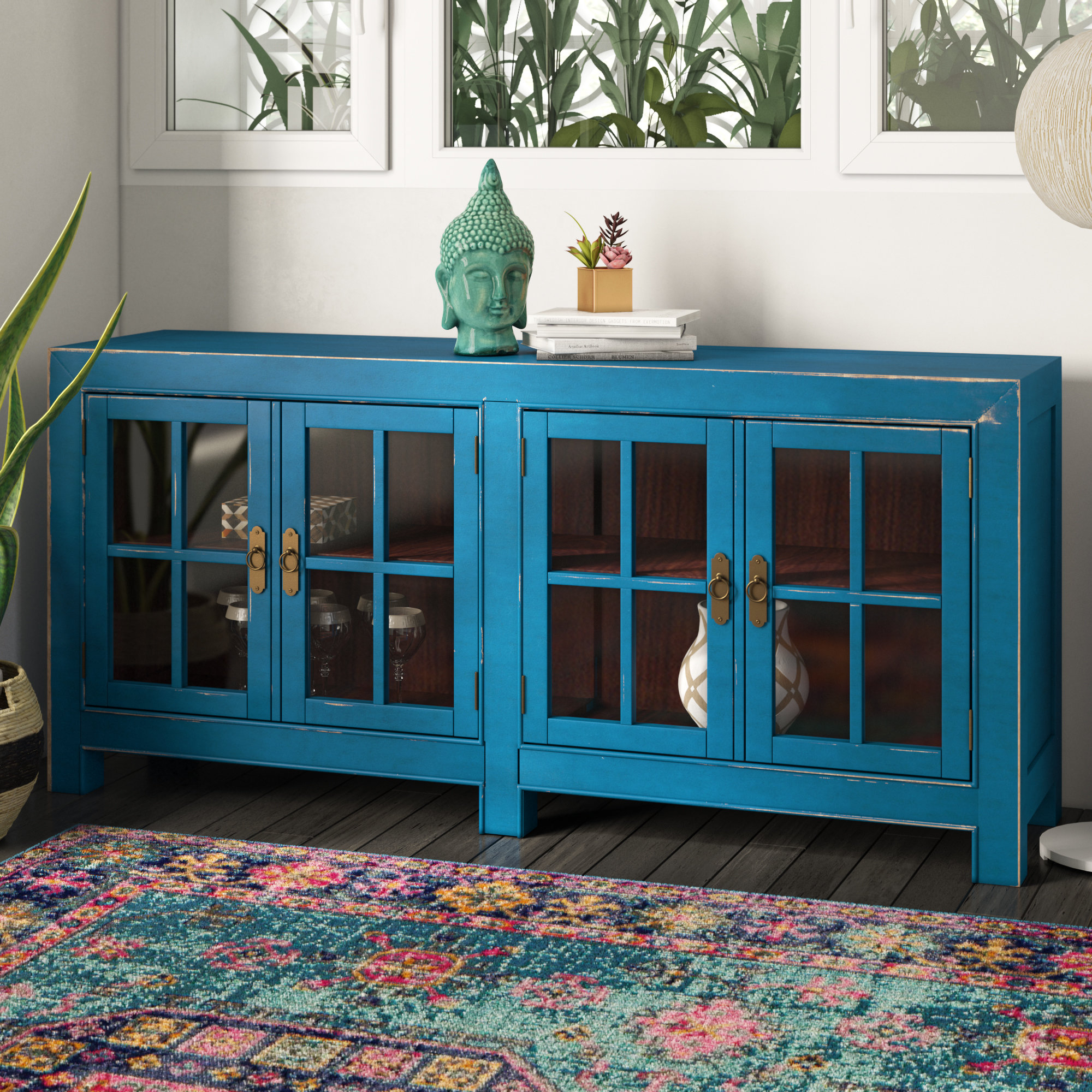 Layne 4 Door Accent Cabinet for Eau Claire 6 Door Accent Cabinets (Image 22 of 30)