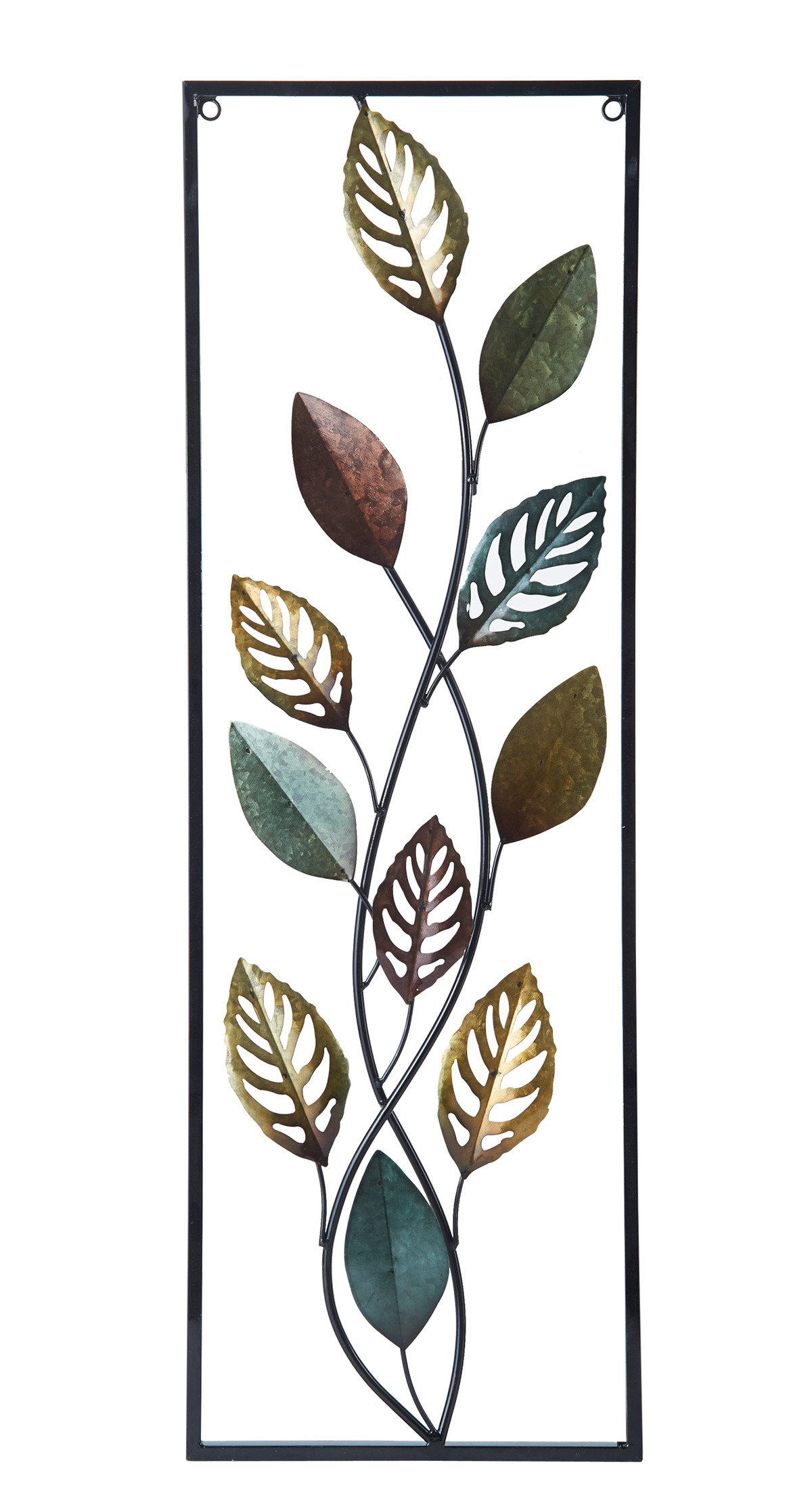 Leaf Wall Décor Inside Leaves Metal Sculpture Wall Decor By Winston Porter (View 21 of 30)