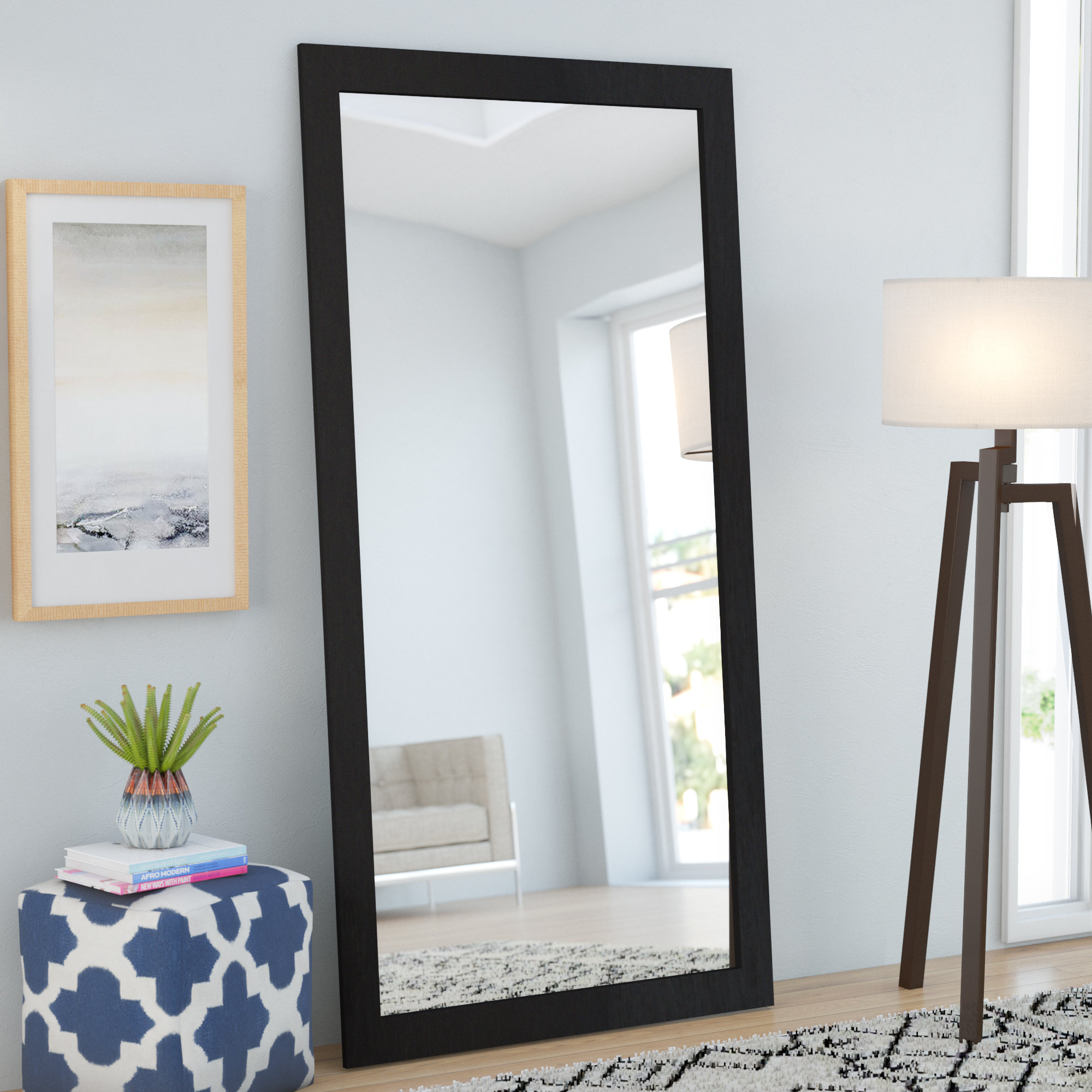 Featured Photo of Leaning Mirrors