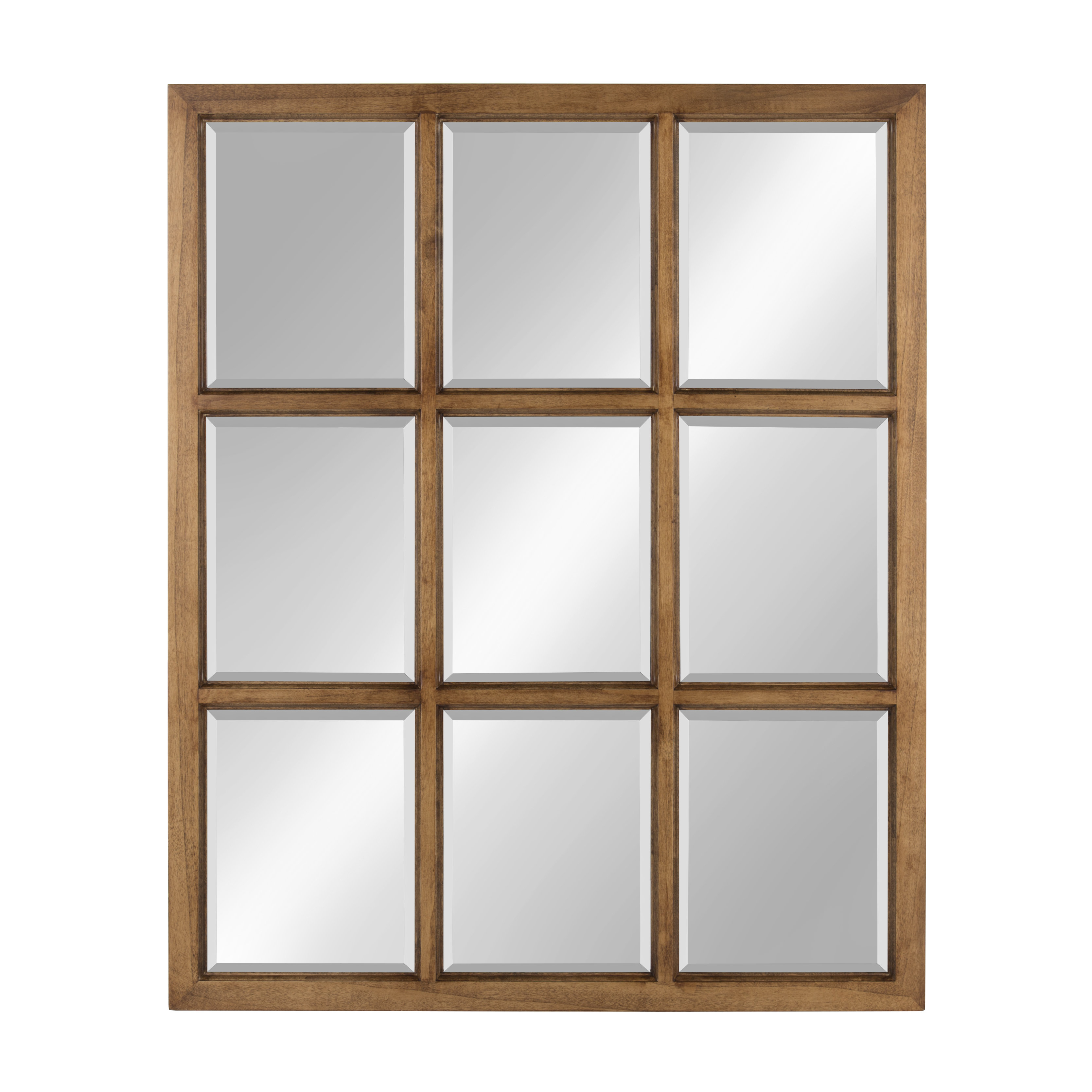 Leavens Cottage/country Beveled Accent Mirror Pertaining To Austin Industrial Accent Mirrors (Image 15 of 30)