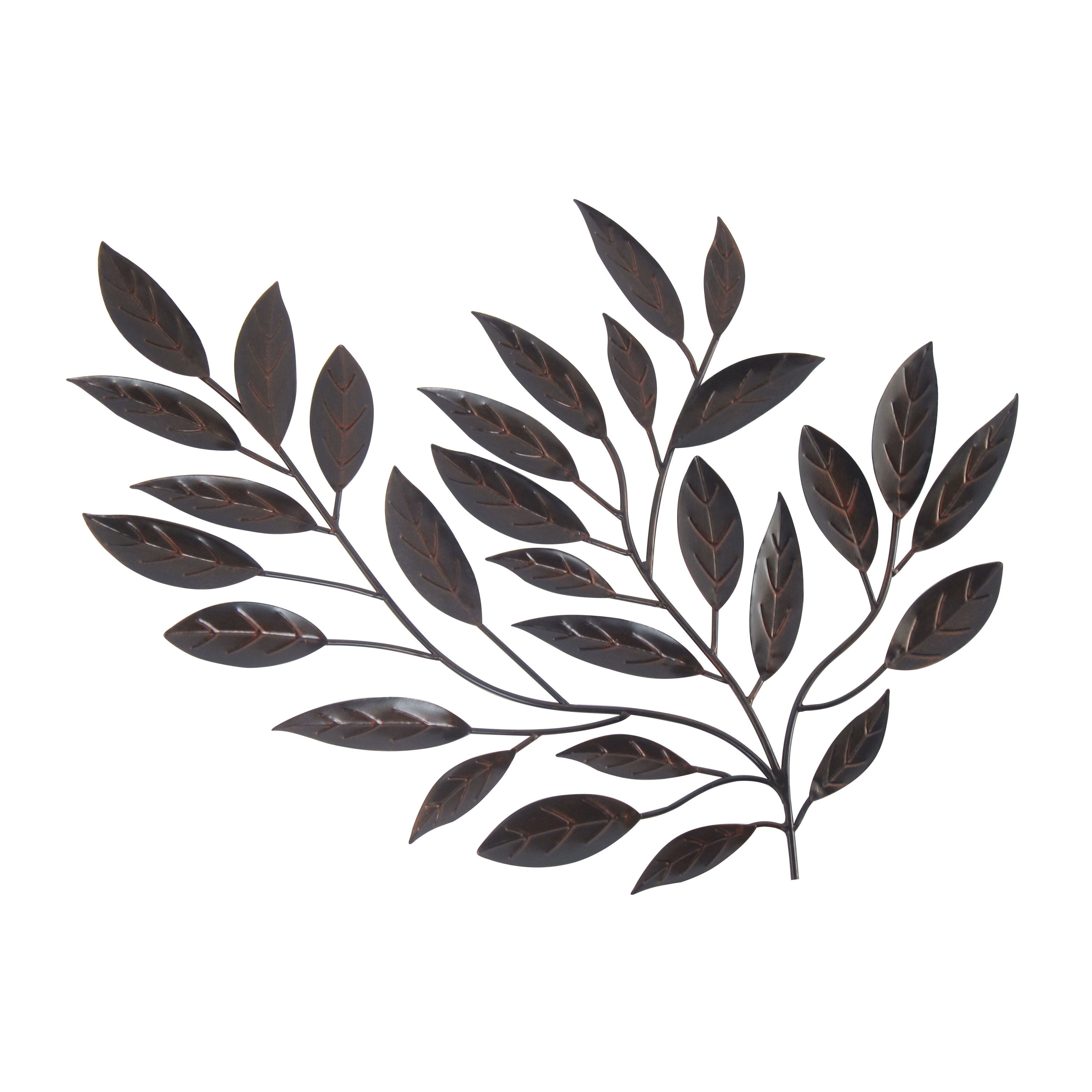 Leaves Wall Decor - Ronniebrownlifesystems inside Leaves Metal Sculpture Wall Decor (Image 22 of 30)