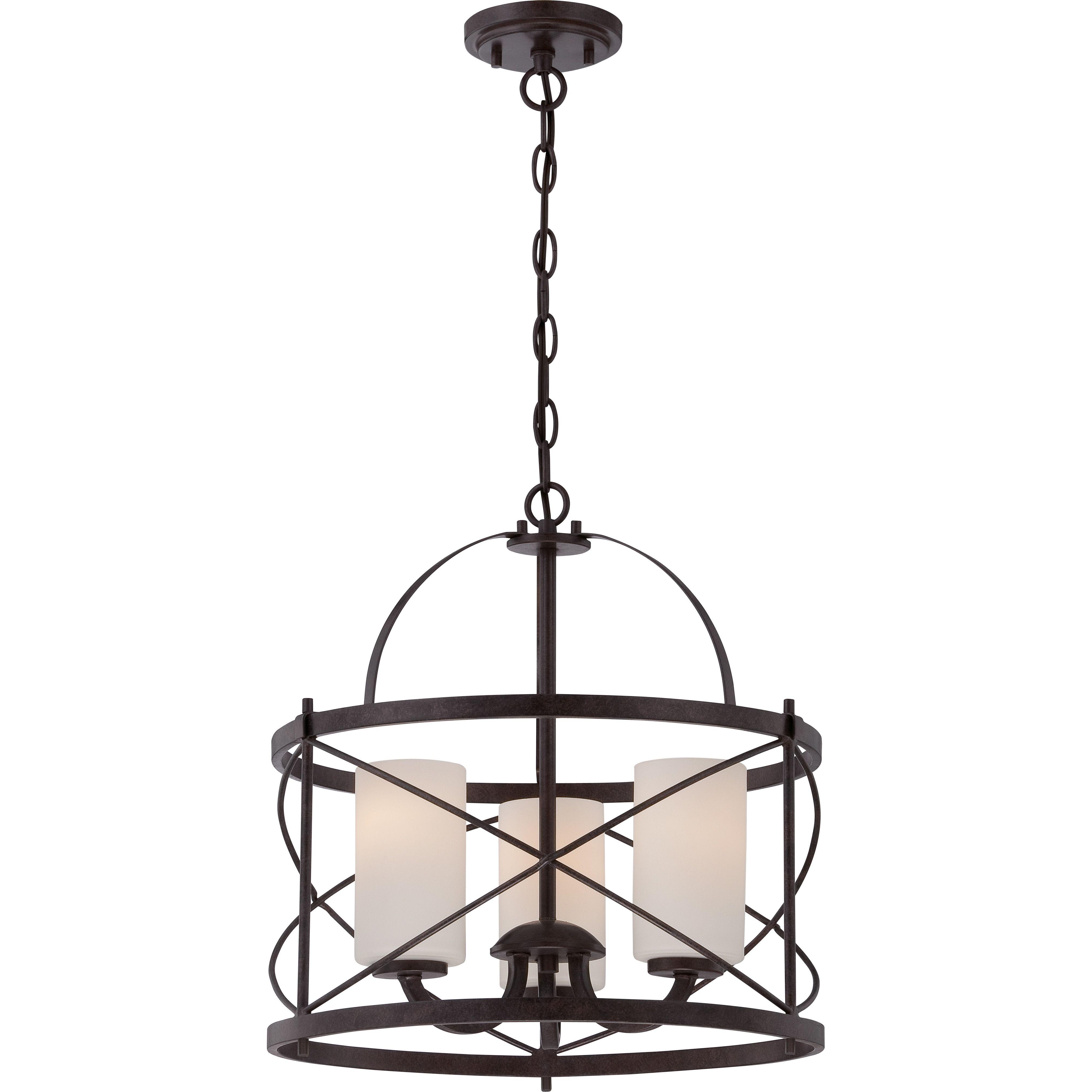 Leeza Pendant   Kitchen Lighting   Pendant Lighting, Ceiling Regarding Farrier 3 Light Lantern Drum Pendants (View 9 of 30)