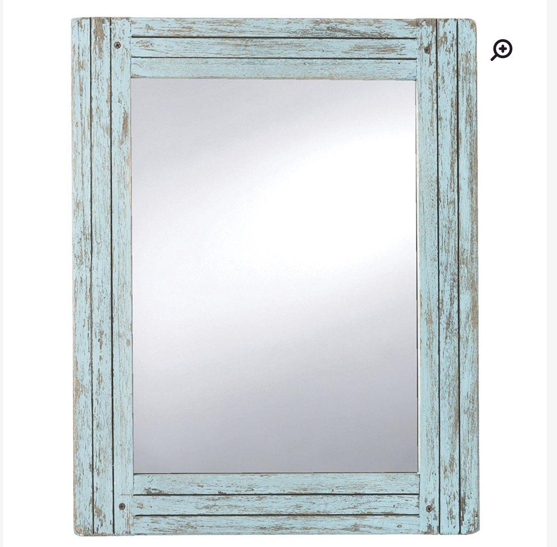 Lefkowski Accent Mirror | Melissa's Farmhouse Chic Apartment Inside Bartolo Accent Mirrors (Image 20 of 30)