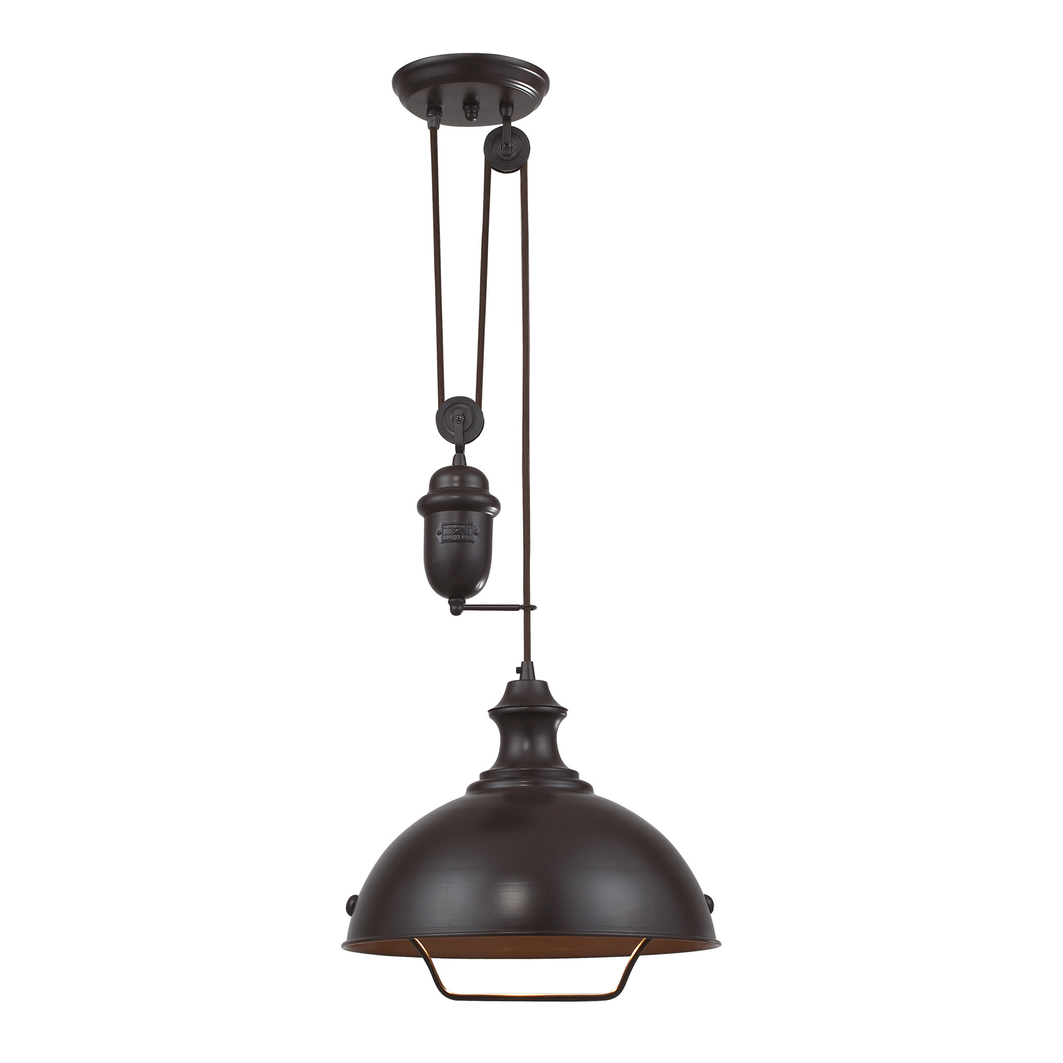 Legrand 1-Light Single Dome Pendant pertaining to 1-Light Single Dome Pendants (Image 17 of 30)