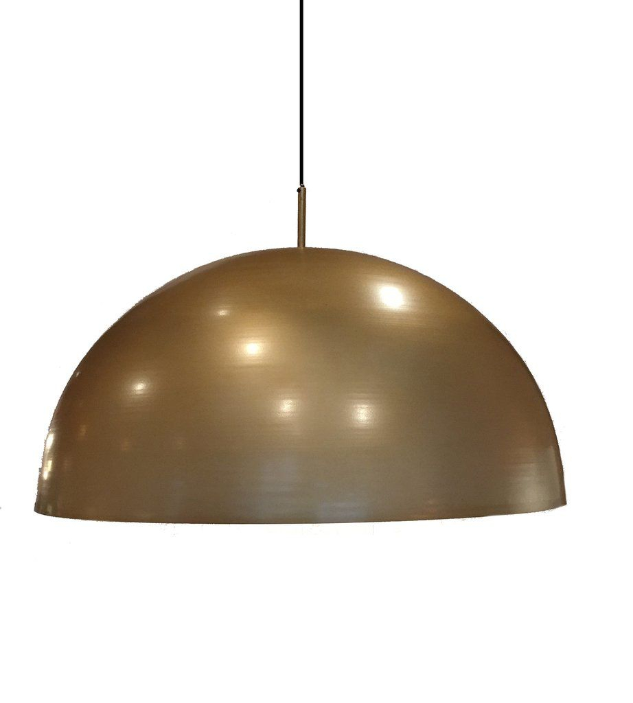 Leonard Brass Dome Pendant Light | Moi In 2019 | Lighting With Regard To Amara 3 Light Dome Pendants (Image 18 of 30)
