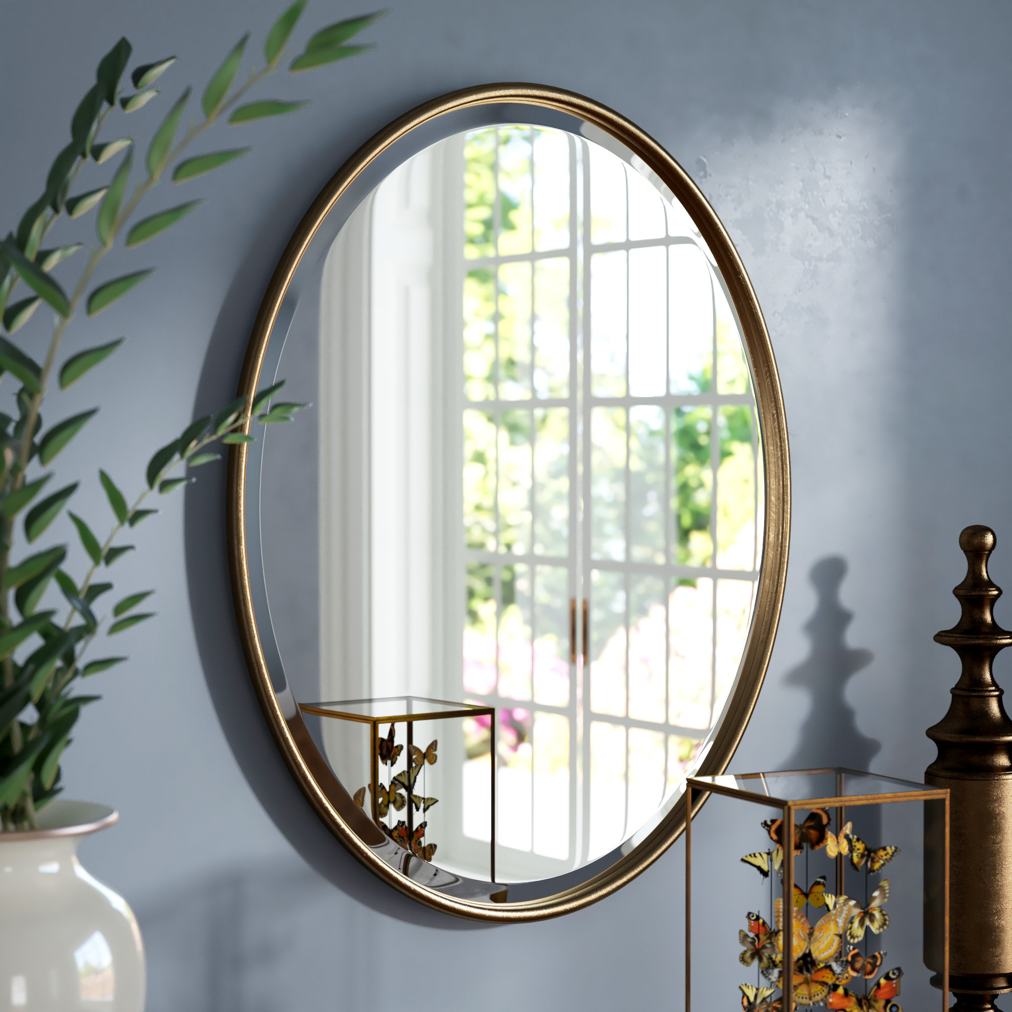Levi Beveled Accent Mirror Intended For Luna Accent Mirrors (View 11 of 30)