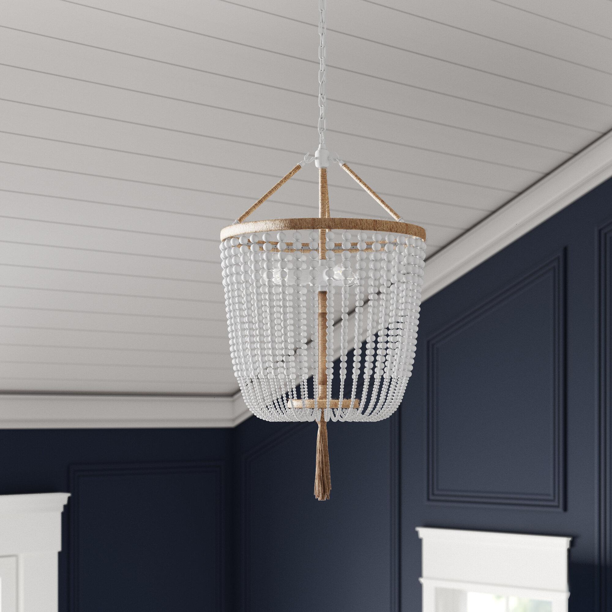 Leyva 3-Light Single Urn Pendant intended for 3-Light Single Urn Pendants (Image 21 of 30)