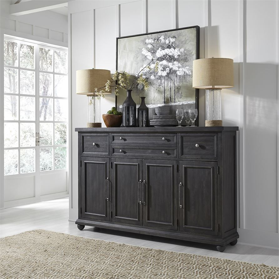 Liberty | Becky And Jons Dining Room | Sideboard, Furniture for Mauzy Sideboards (Image 17 of 30)