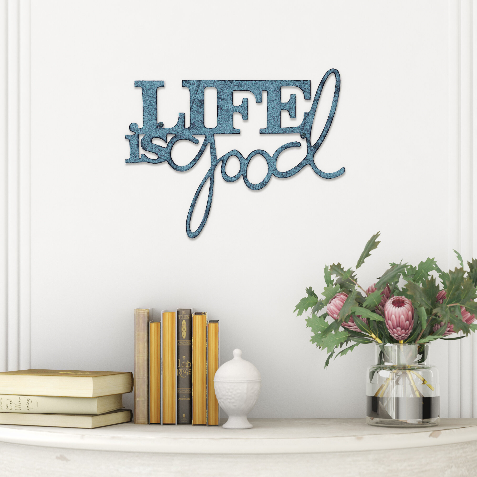 Life Is Good Wall Decor | Rikenik within Metal Wall Decor by Winston Porter (Image 17 of 30)