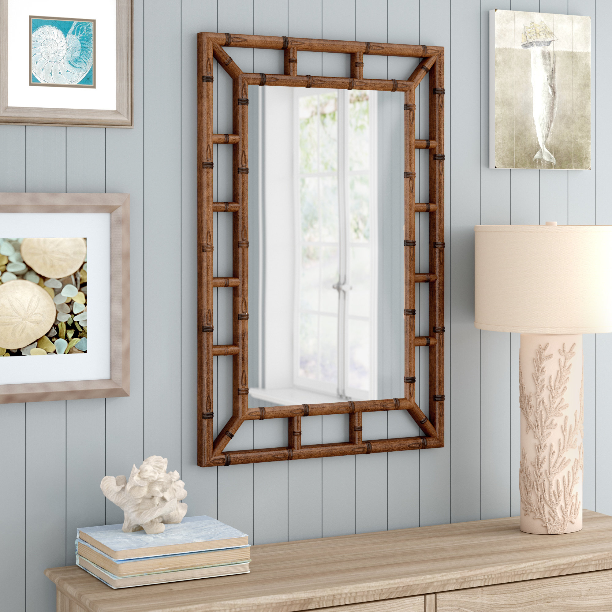 Light Weight Wall Mirrors | Wayfair within Swagger Accent Wall Mirrors (Image 17 of 30)