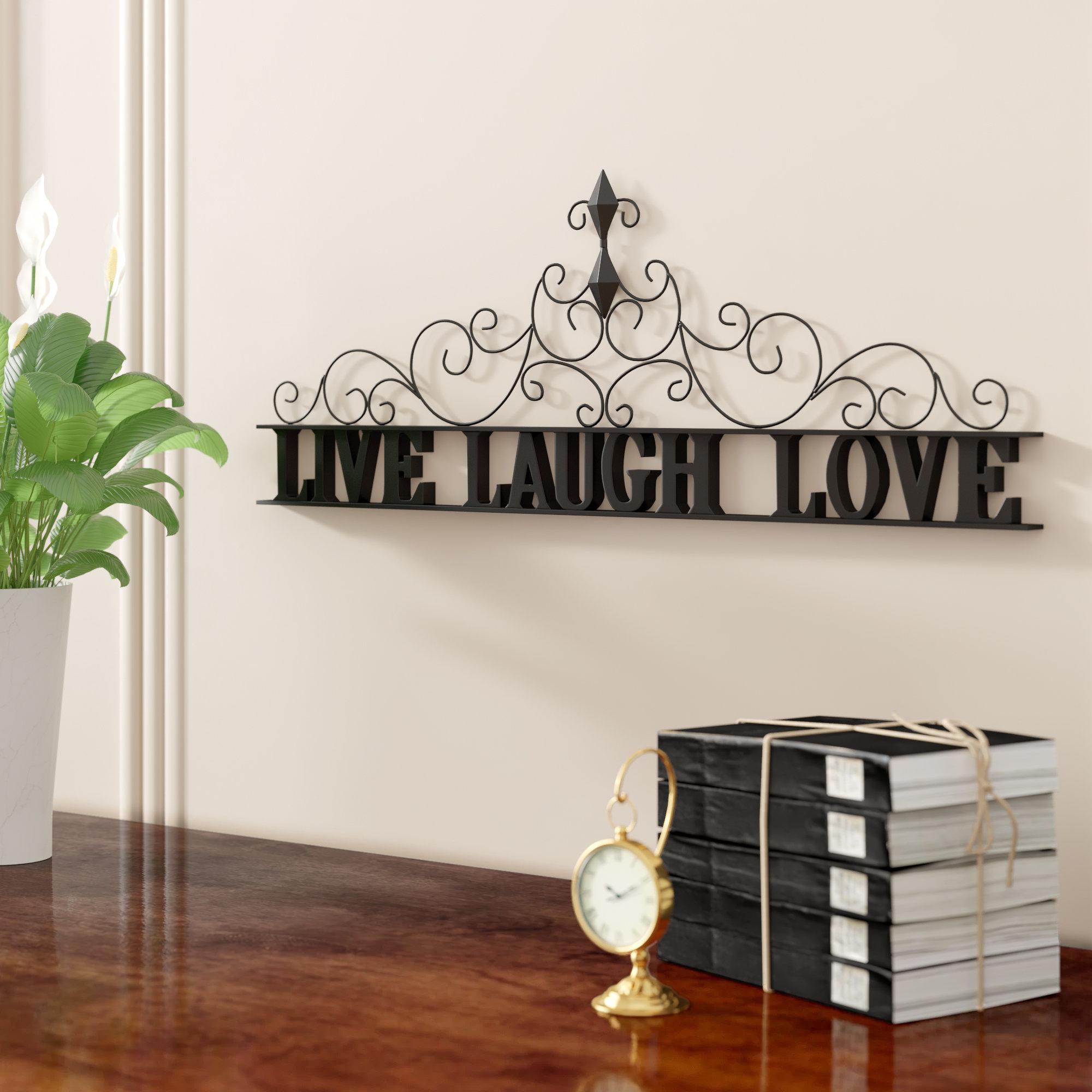 Live Laugh Love Decor | Wayfair (View 20 of 30)