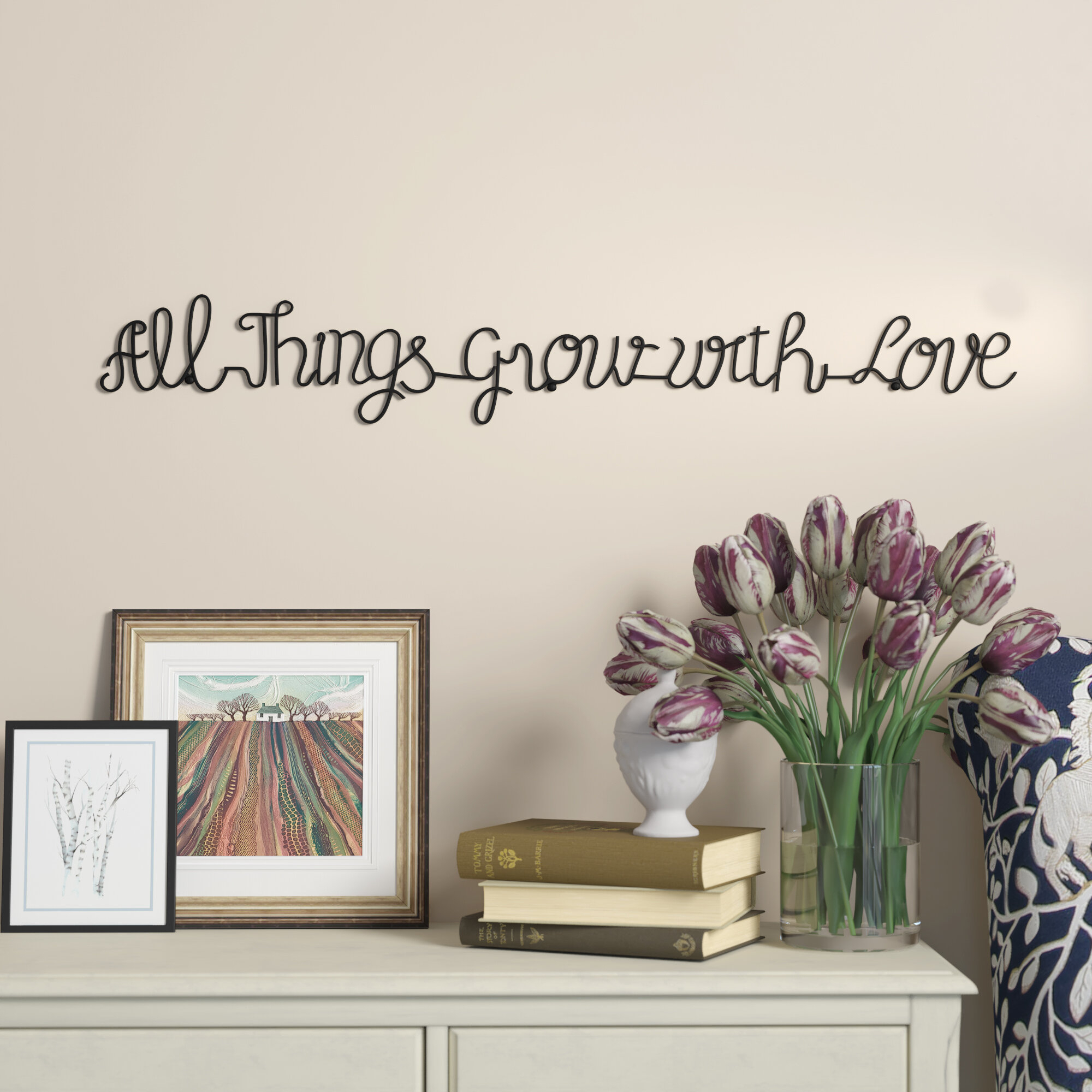 Live Love Laugh Wall Decor | Wayfair Within Live Love Laugh 3 Piece Black Wall Decor Sets (View 20 of 30)