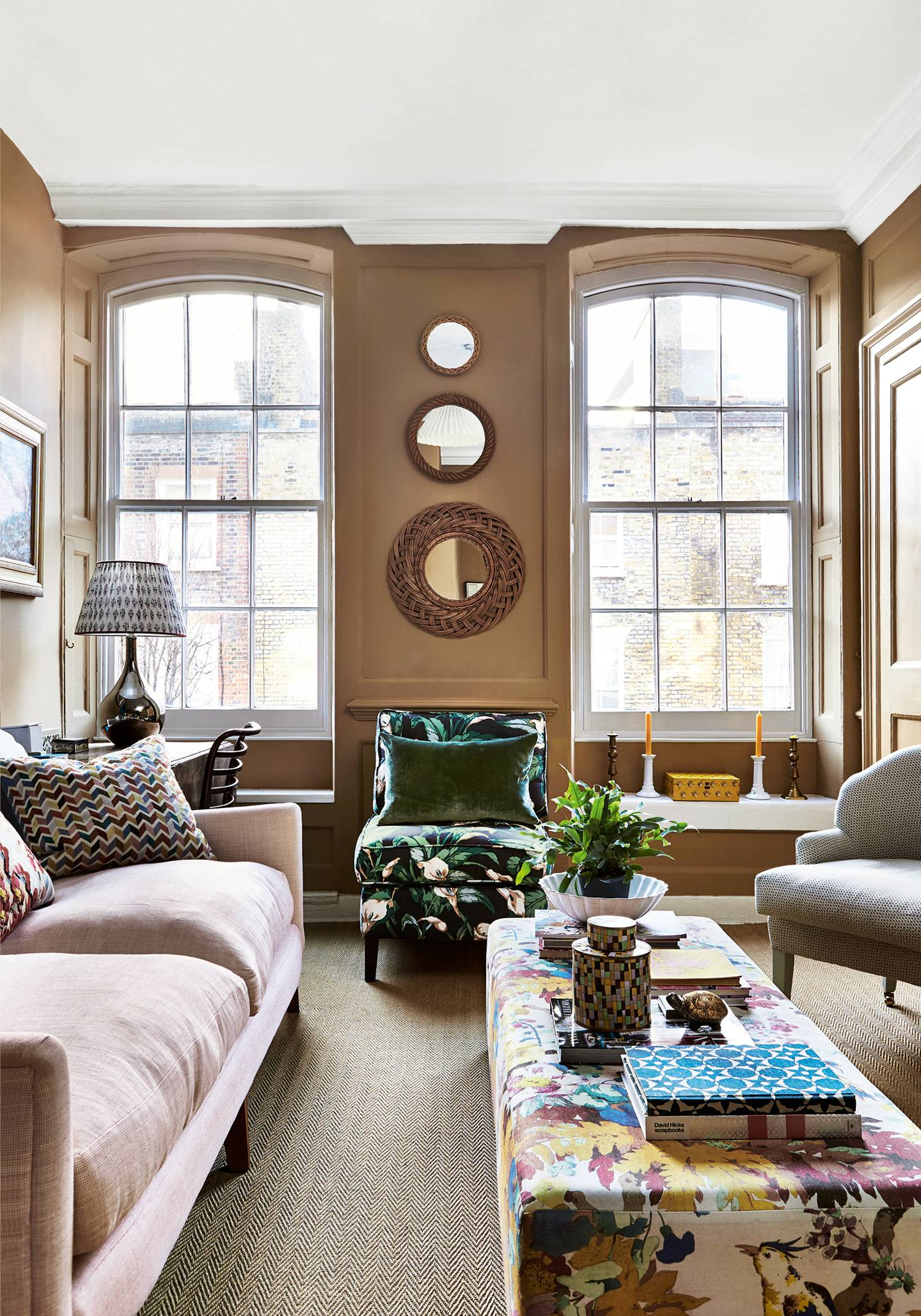 "Living Room Ideas From The World's Most Stylish Homes in In-A-Word ""welcome"" Wall Decor By Fireside Home (Image 15 of 30)"