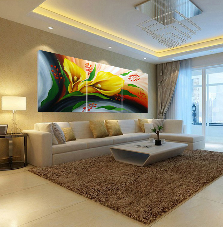 Living Room : Modern Home Decoration Wall Art Pictures For Inside Contemporary Abstract Round Wall Decor (View 14 of 30)